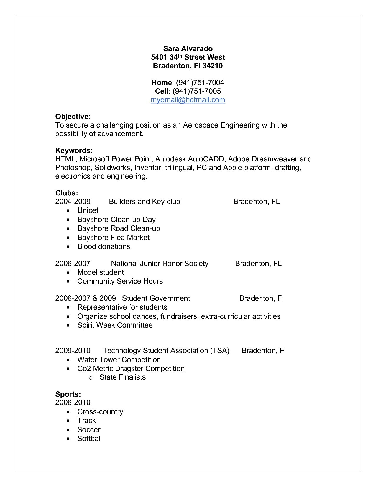 10 employment history resume examples