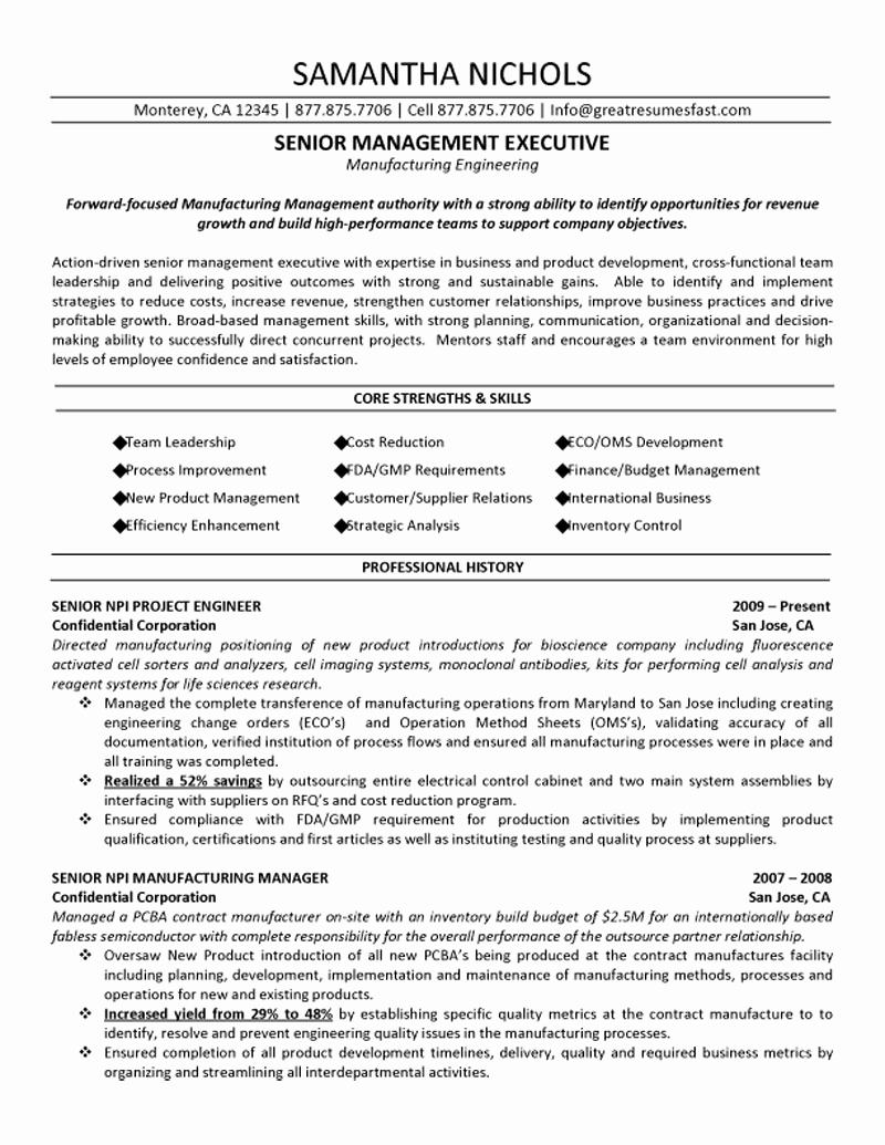 Engineering Manager Resume - software Engineering Manager Resume New Construction Project Manager