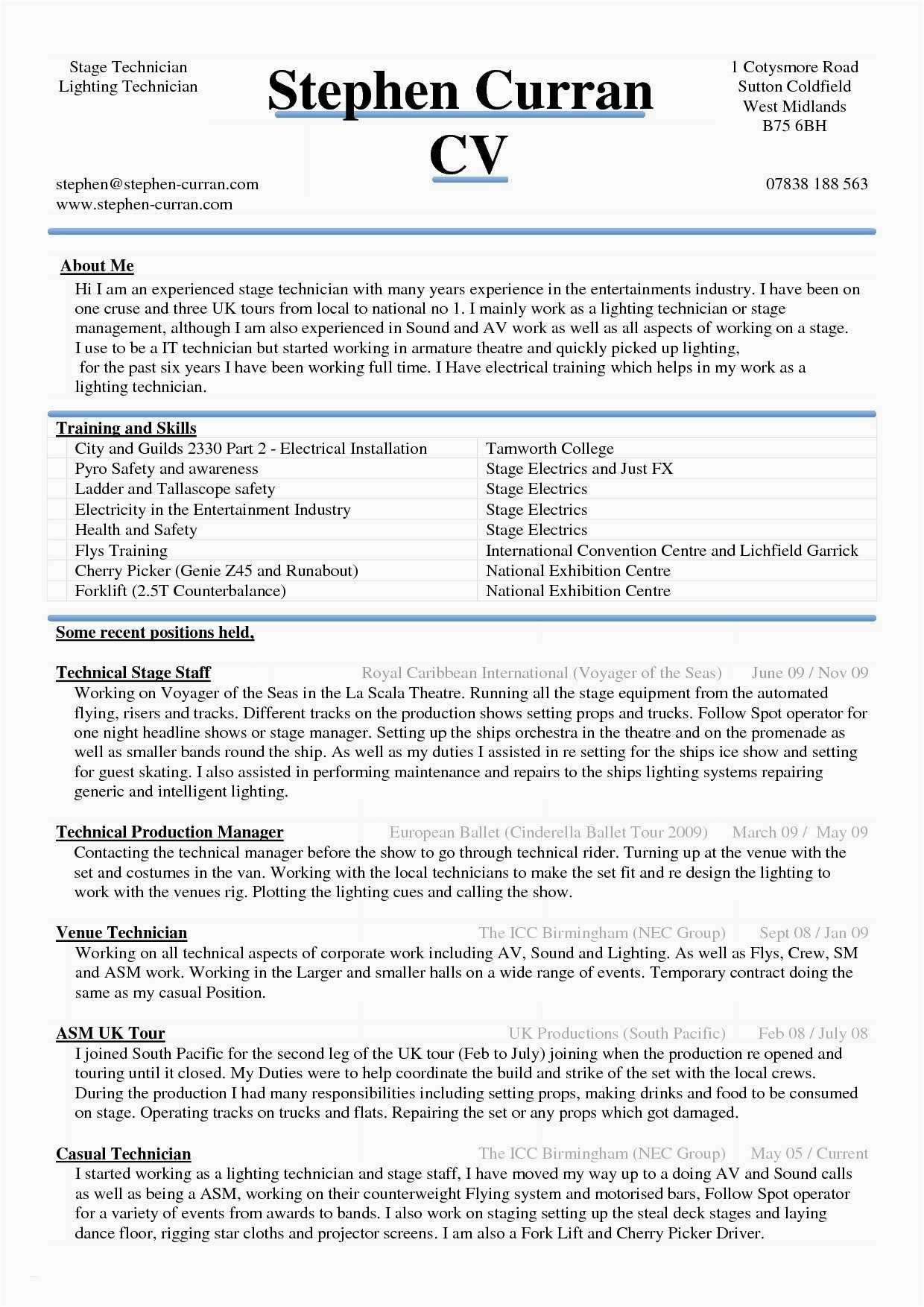 Entertainment Resume Template - 21 Free top Resume Templates Simple