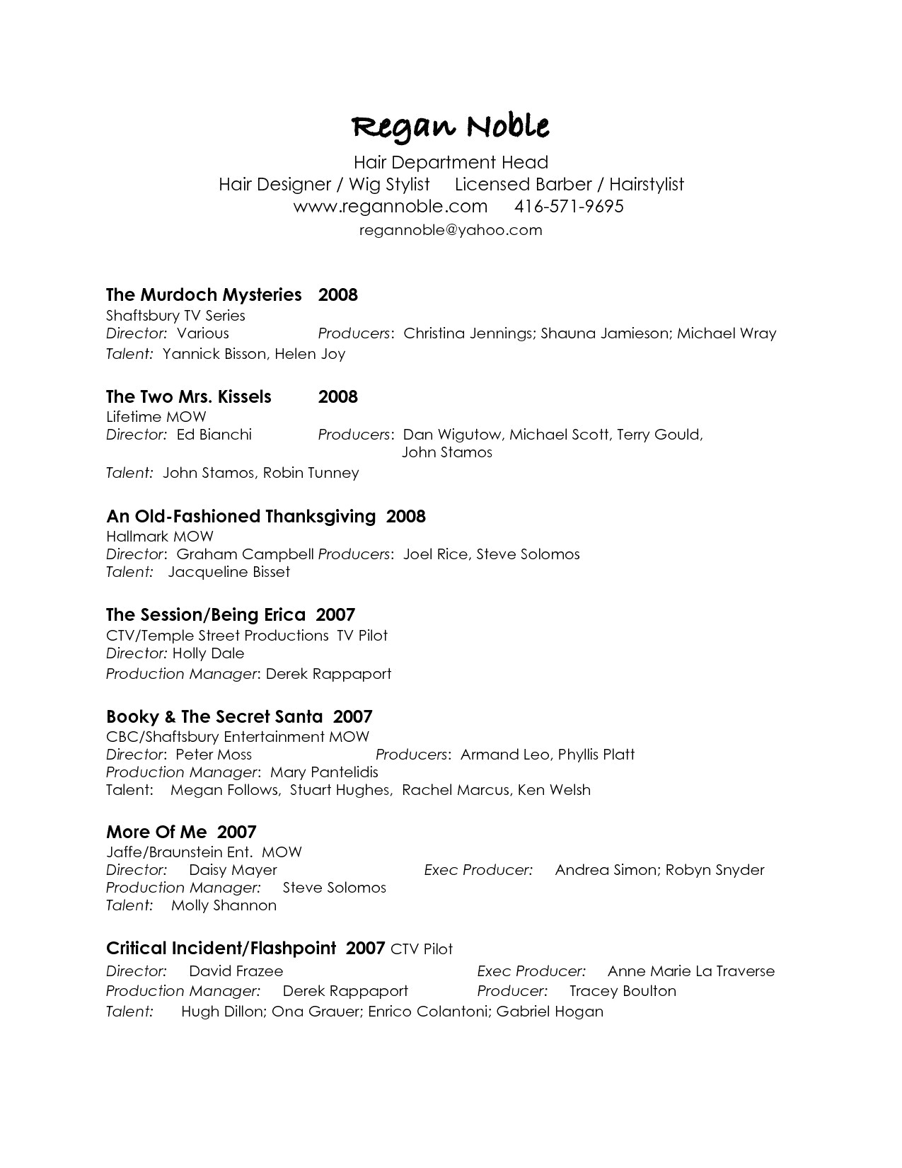 Entertainment Resume Template Free - 44 Concepts Free Resumes Samples