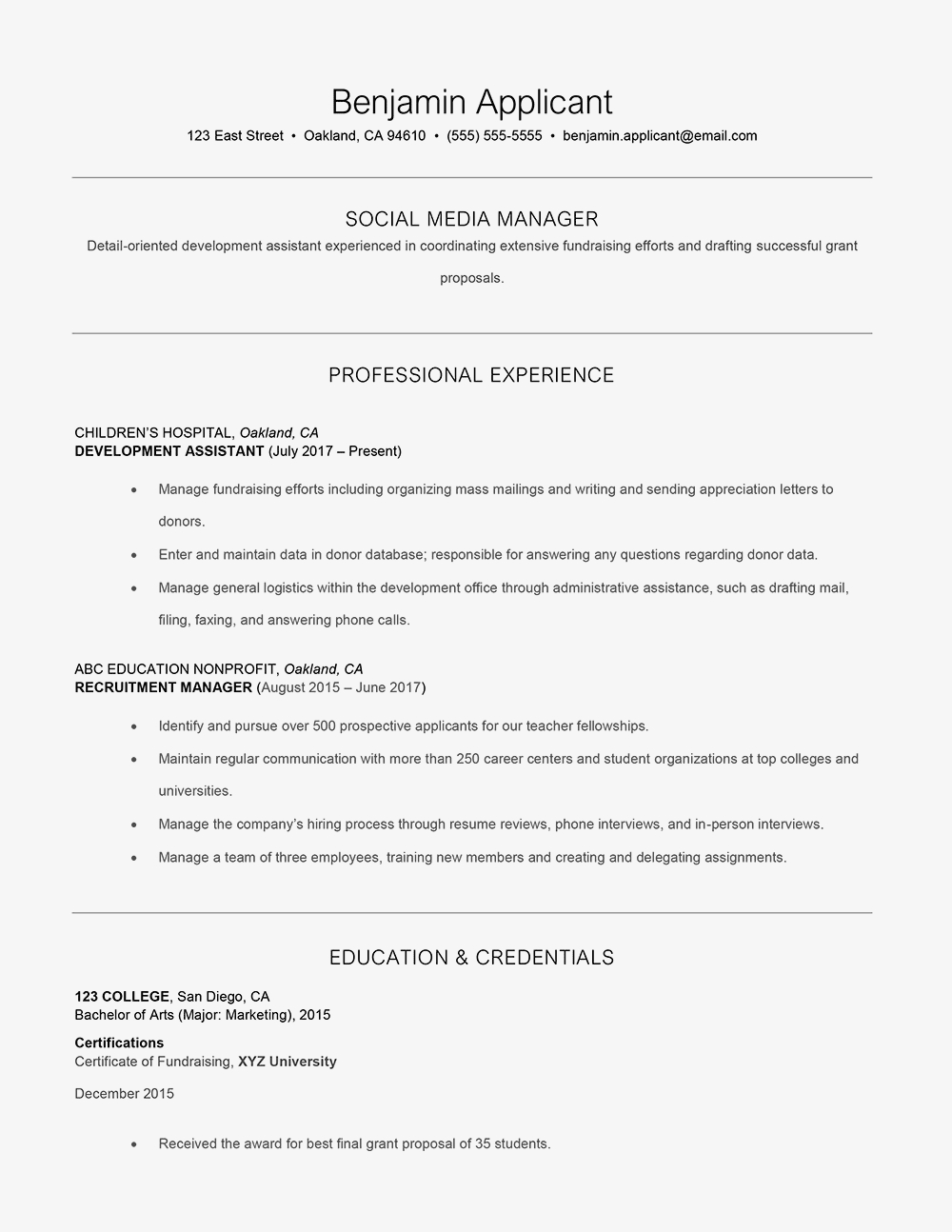 Entry Level Clinical Research Coordinator Resume - How to Add A Branding Statement to Your Resume