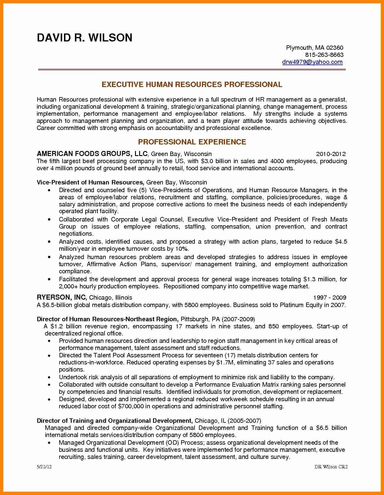 Entry Level Human Resources Resume - Entry Level Human Resources Resume Free Downloads Entry Level Human