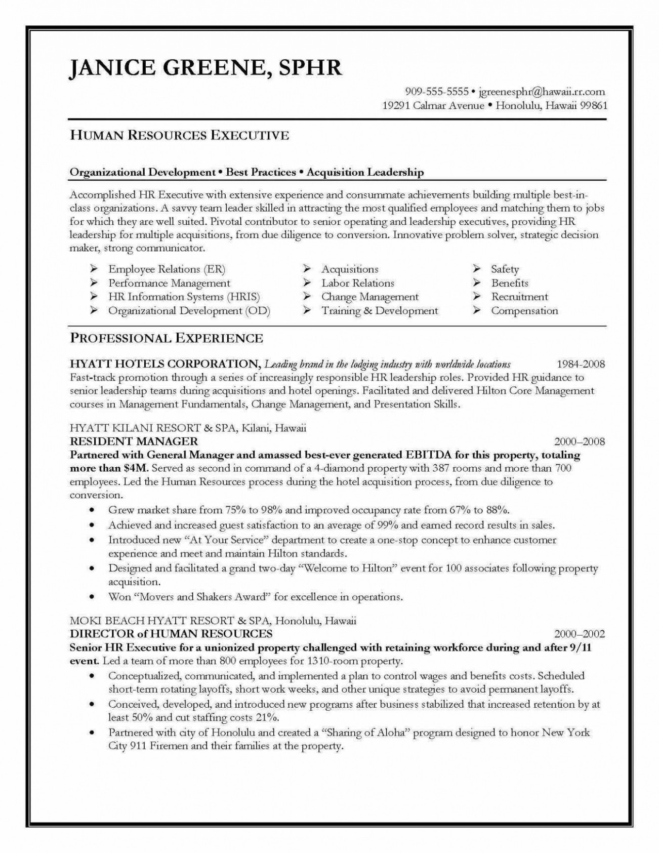 Entry Level Human Resources Resume - Entry Level Human Resources Resume New Hr Resume Objective