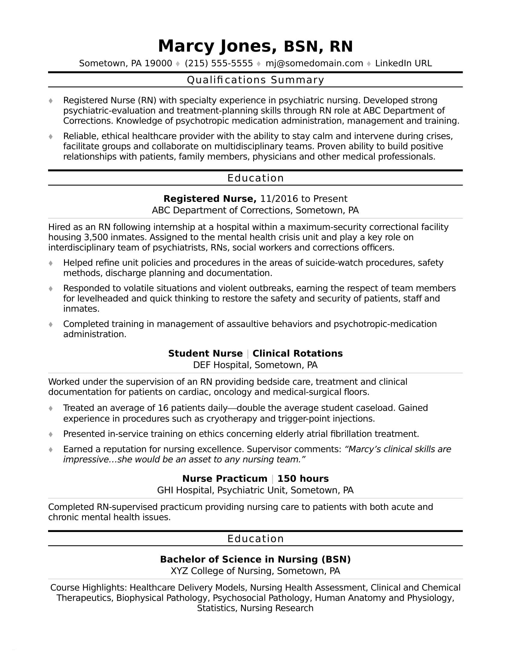 er nurse responsibilities resume example-Er Nurse Resume Best Sample Emergency Room Nurse Resume Free Download Rn Bsn Resumes 11-s