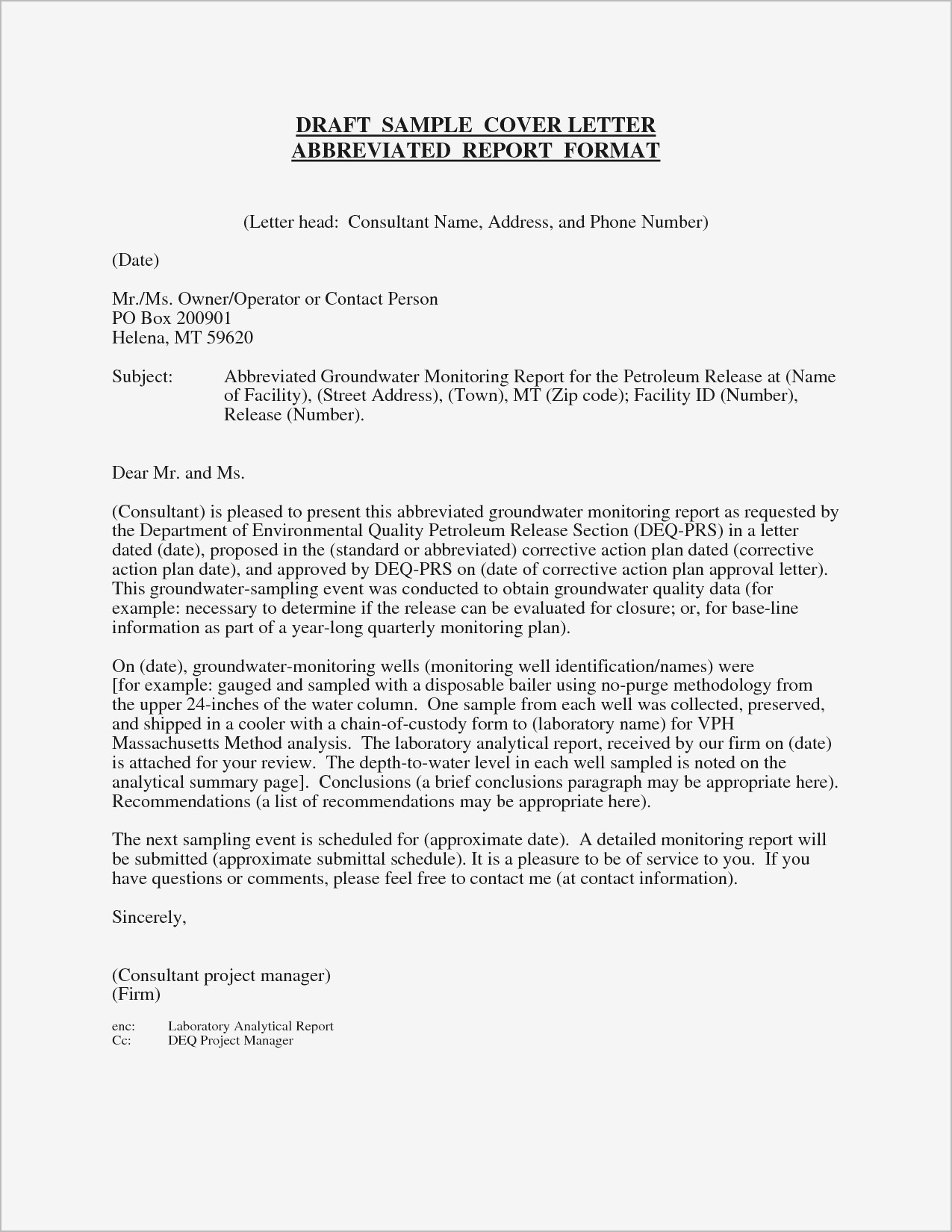 Example Cover Letter for Resume - Cover Letter Template Gallery
