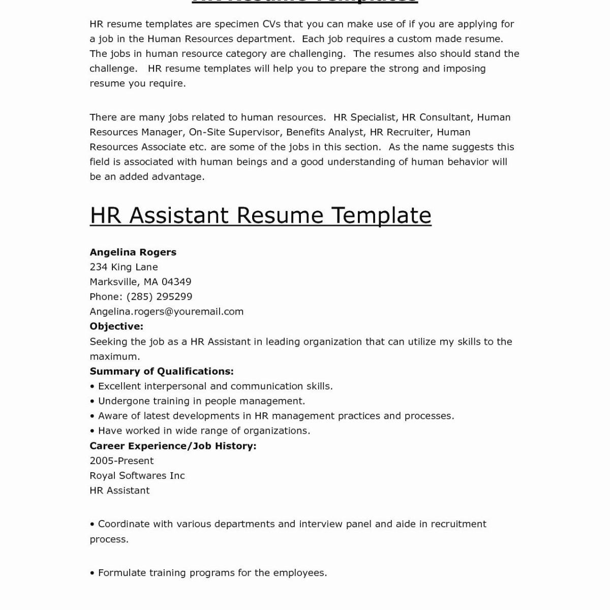 Examples Of Supervisor Resumes - 37 Charming Nanny Job Description for Resume H9a