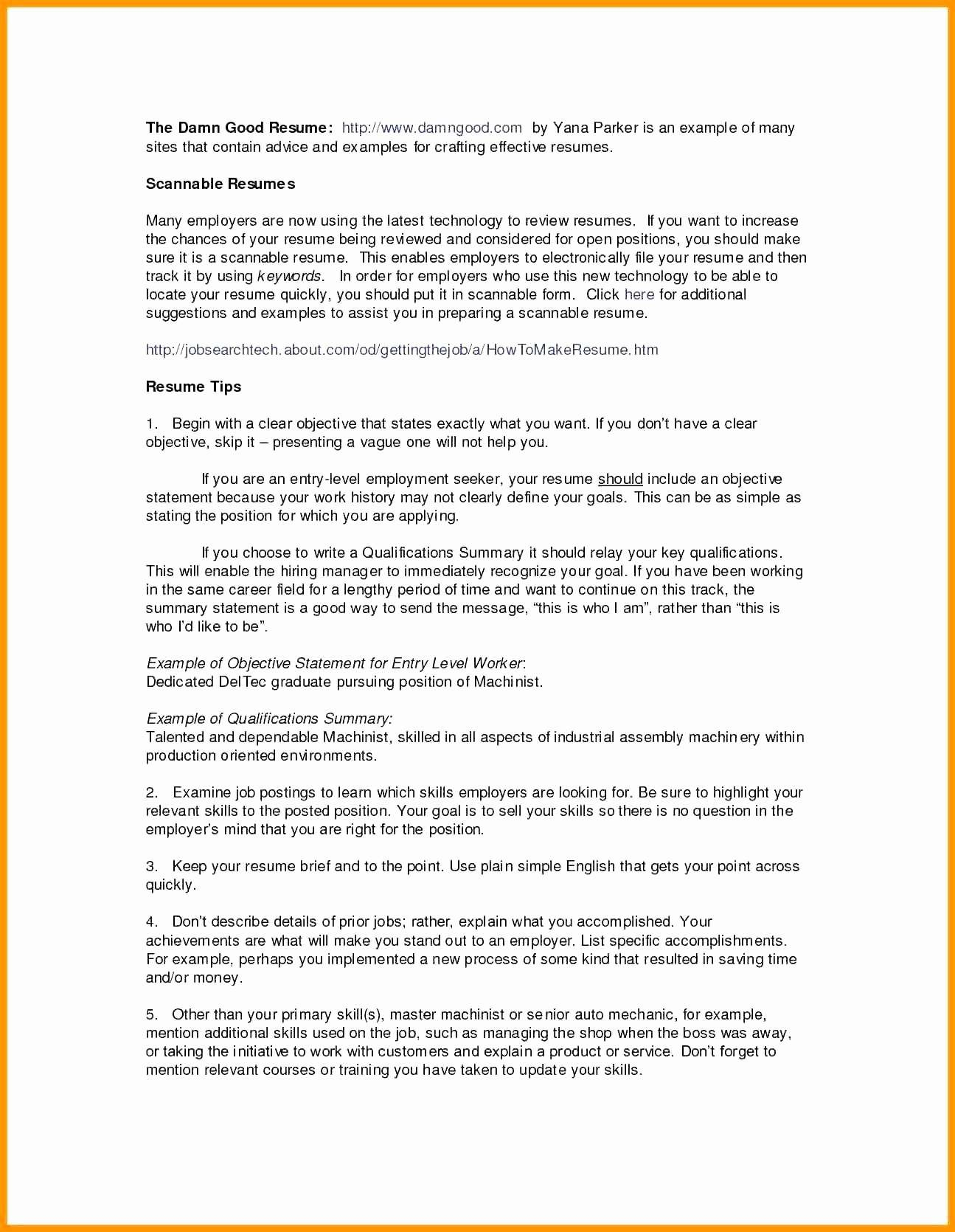 Excel Skills Resume - How to Describe Excel Skills Resume