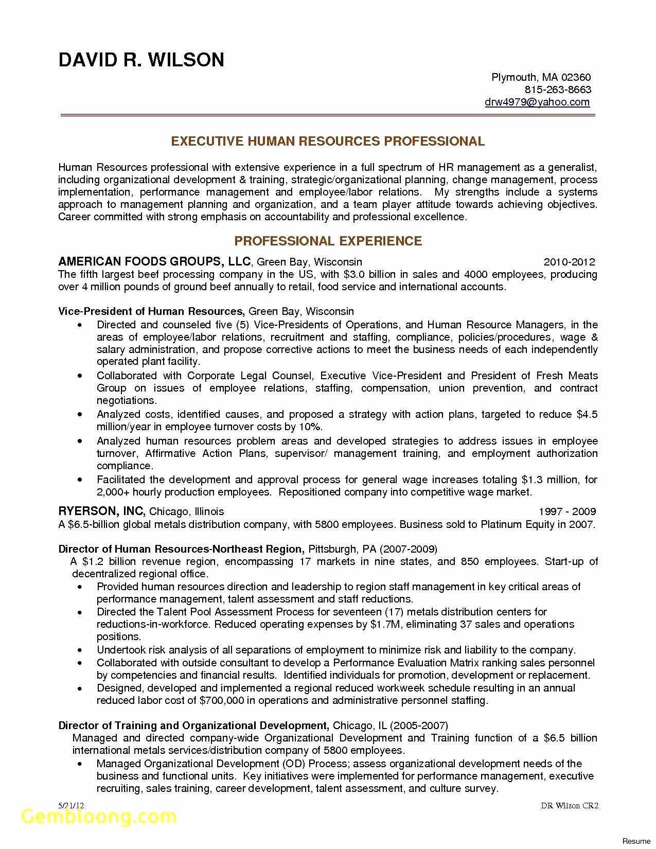 Executive Chef Resume - 15 sous Chef Resume