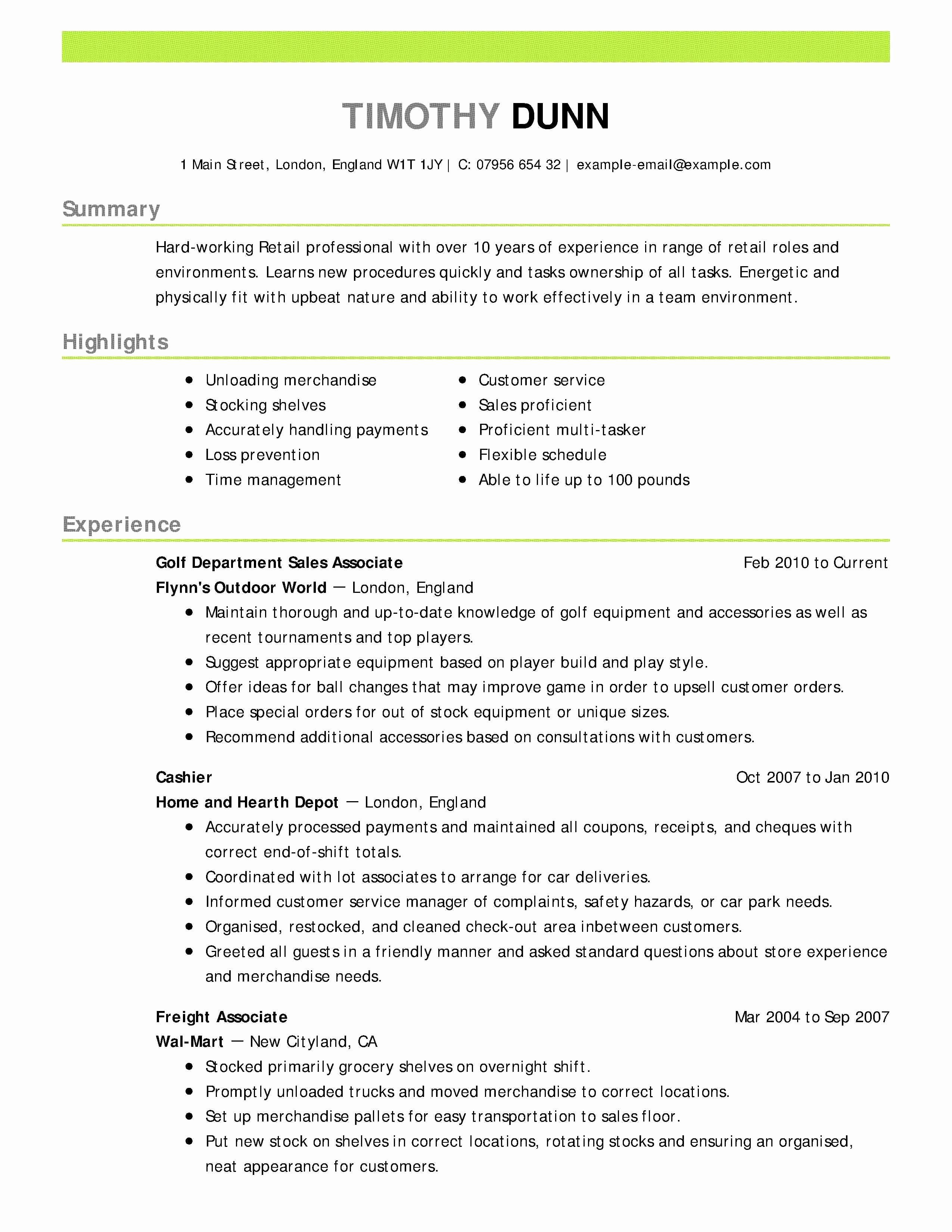 Executive Director Resume Template - Executive Director Resume Samples Beautiful Mark F Hagerty Od