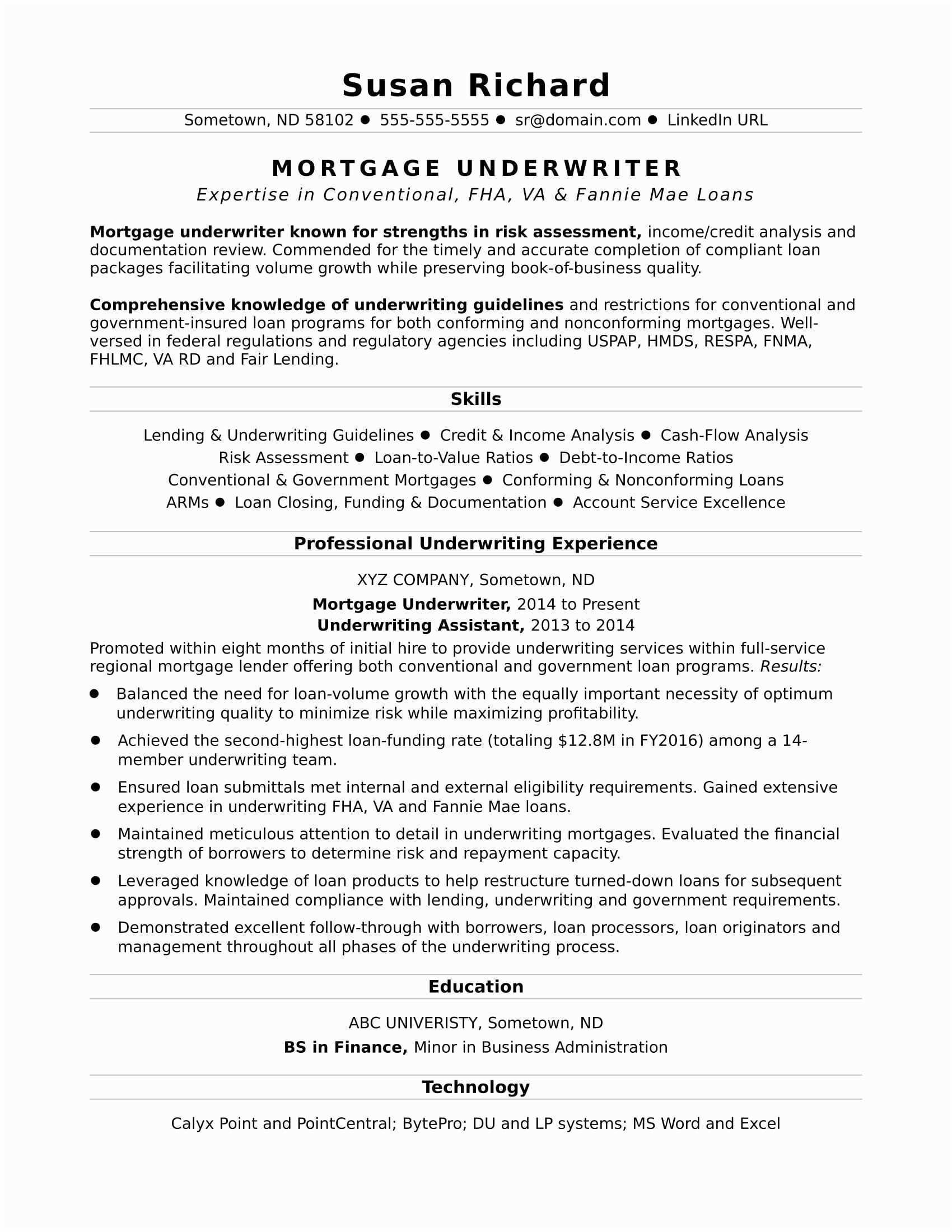 Executive Summary for Resume - 56 New Executive Summary Template