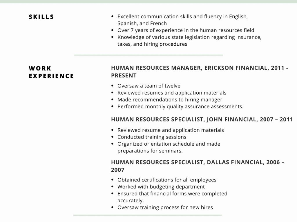 Executive Summary for Resume - Download Best Example Resume Summary