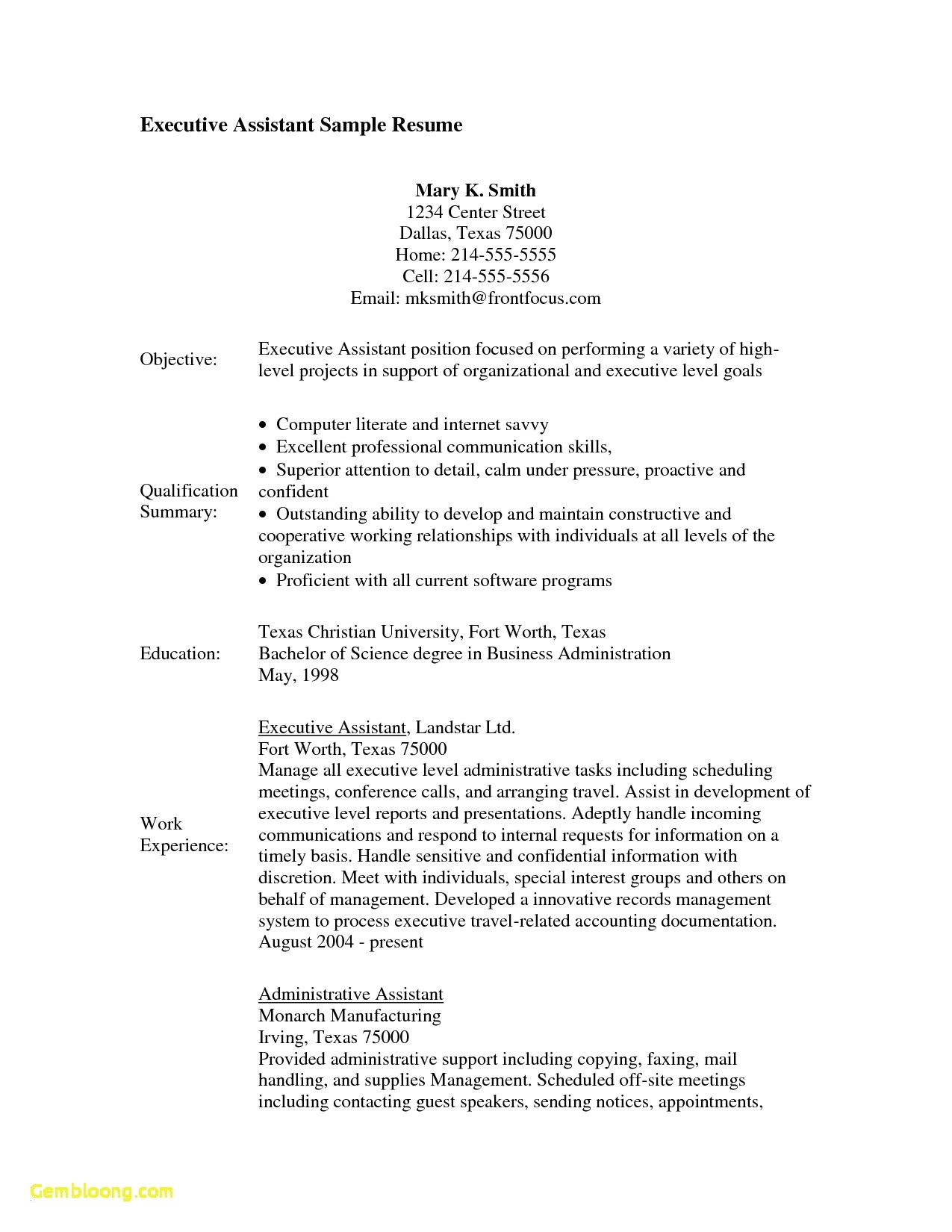 Executive Summary Resume Samples - 64 Unbelievable Retail Resume Examples