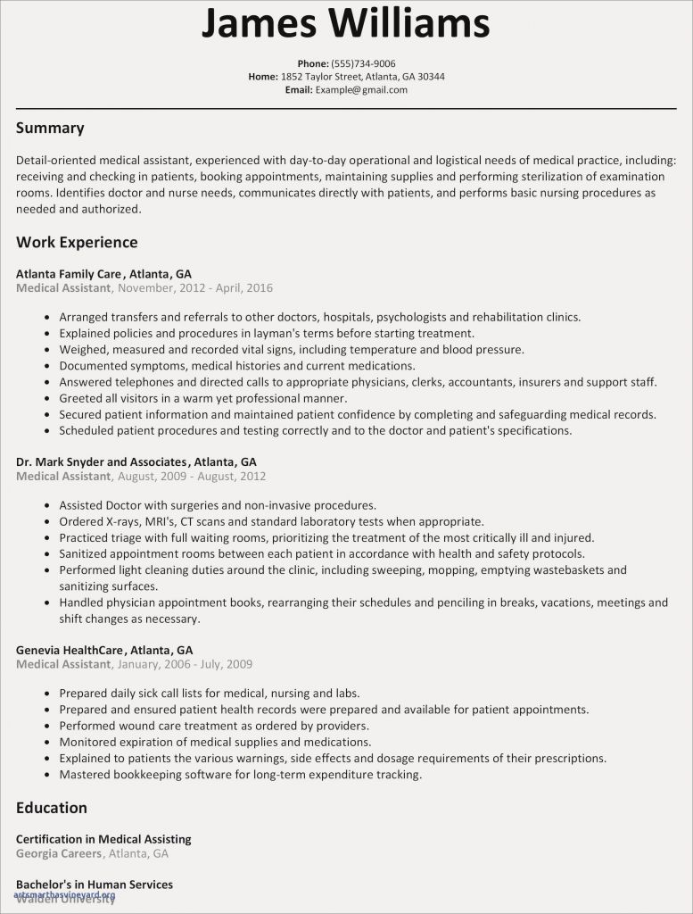 Experienced Rn Resume - Nursing Resume Valid Resume for Nurse Elegant New Nurse Resume