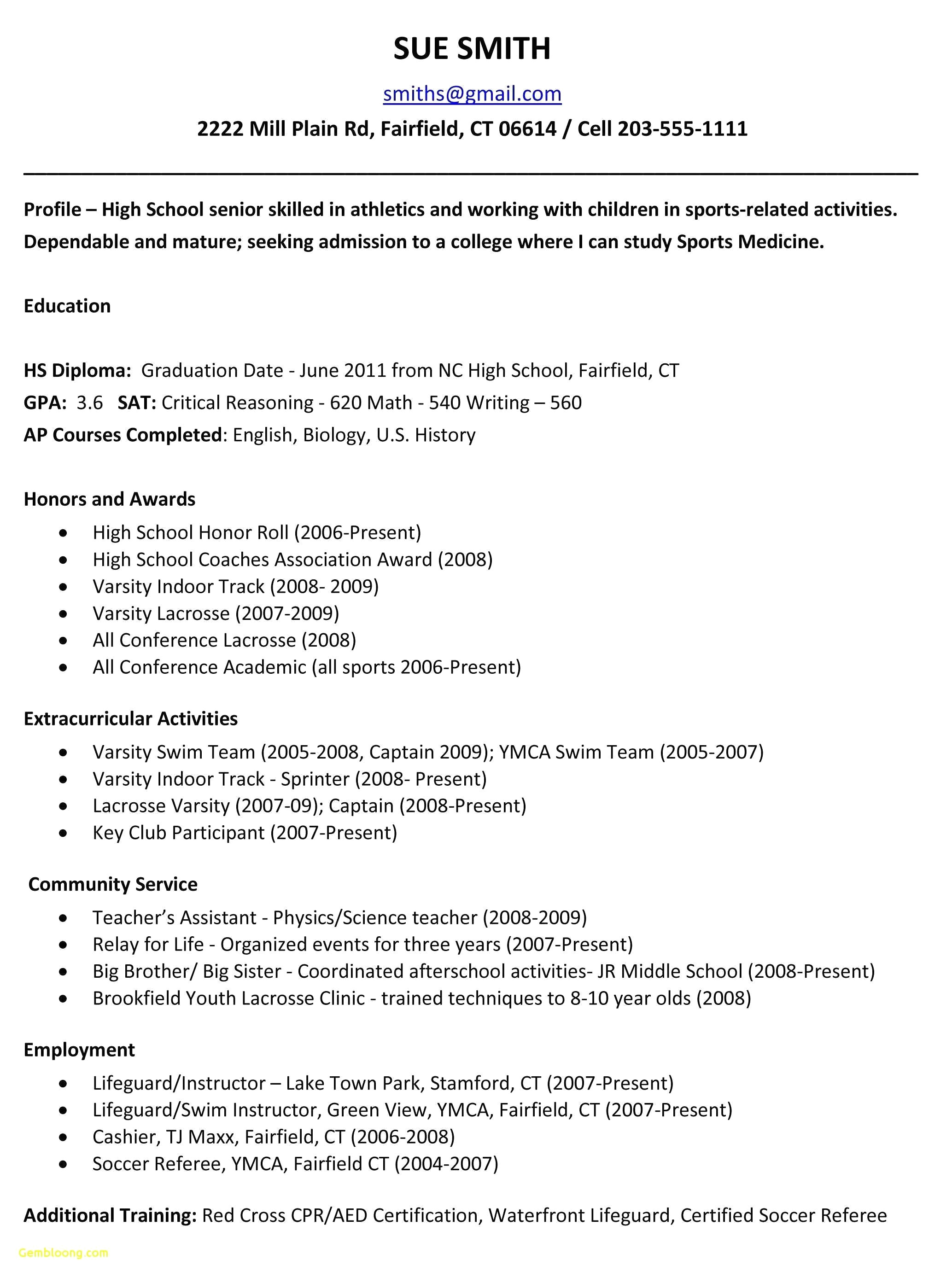 Extracurricular Activities Resume Template - 44 Design Sample social Work Resume
