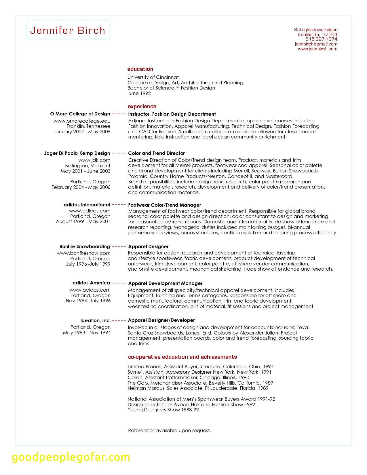 13 Fashion Merchandising Resume Examples Samples Resume