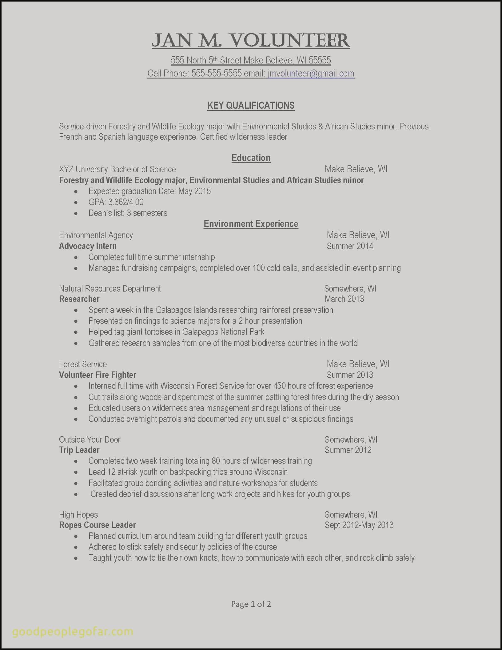 Federal Resume format - Federal Resume Samples Best Usajobs Resume Federal Job Resume New