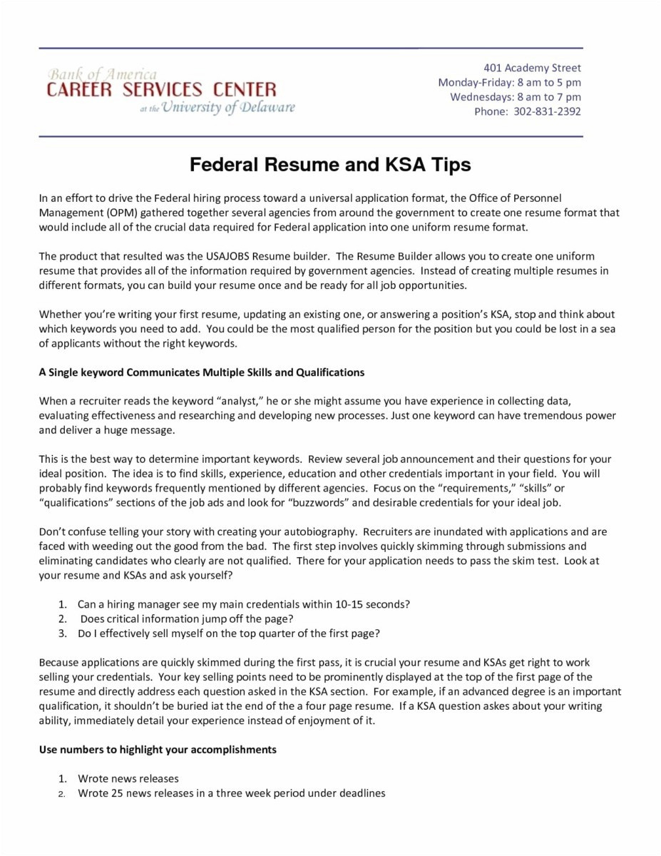 Federal Resume format - 36 Concepts Free Sample Resume Templates