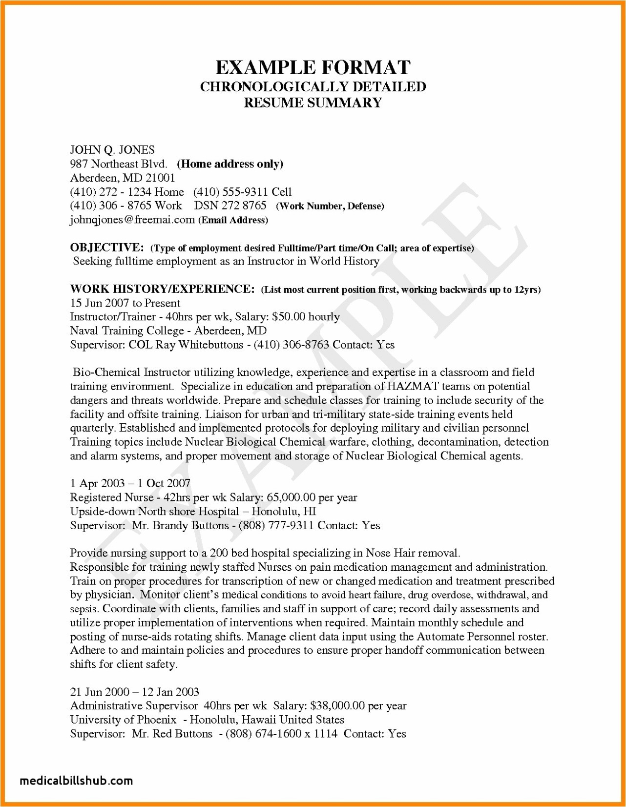 Federal Resume Guide - Sample Federal Resume Fresh Unique Resume for Highschool Students