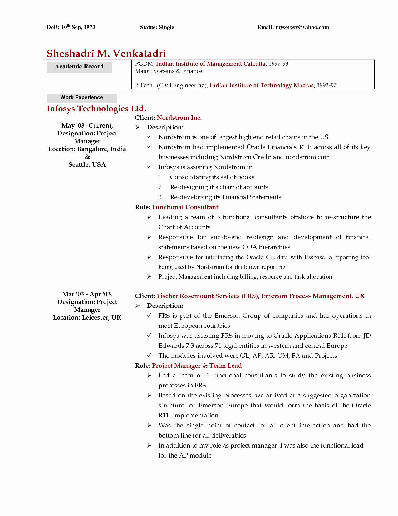 Financial Advisor Resume - Fresh Financial Advisor Resume Sample