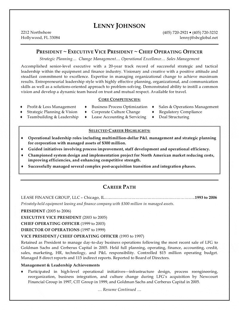 Financial Resume Template - Careers In Finance Resume Fresh Ceo Resume Sample Best Ceo Resume