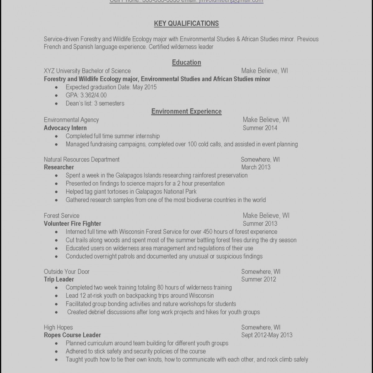 Firefighter Job Description Resume - Example Job Resume Inspirational Resumes Example Awesome Examples