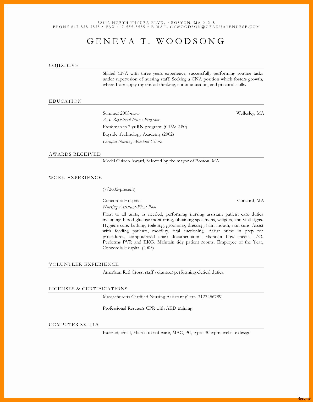 Floral Resume Template - Floral Designer Resume Traditional Resume Template Awesome Date