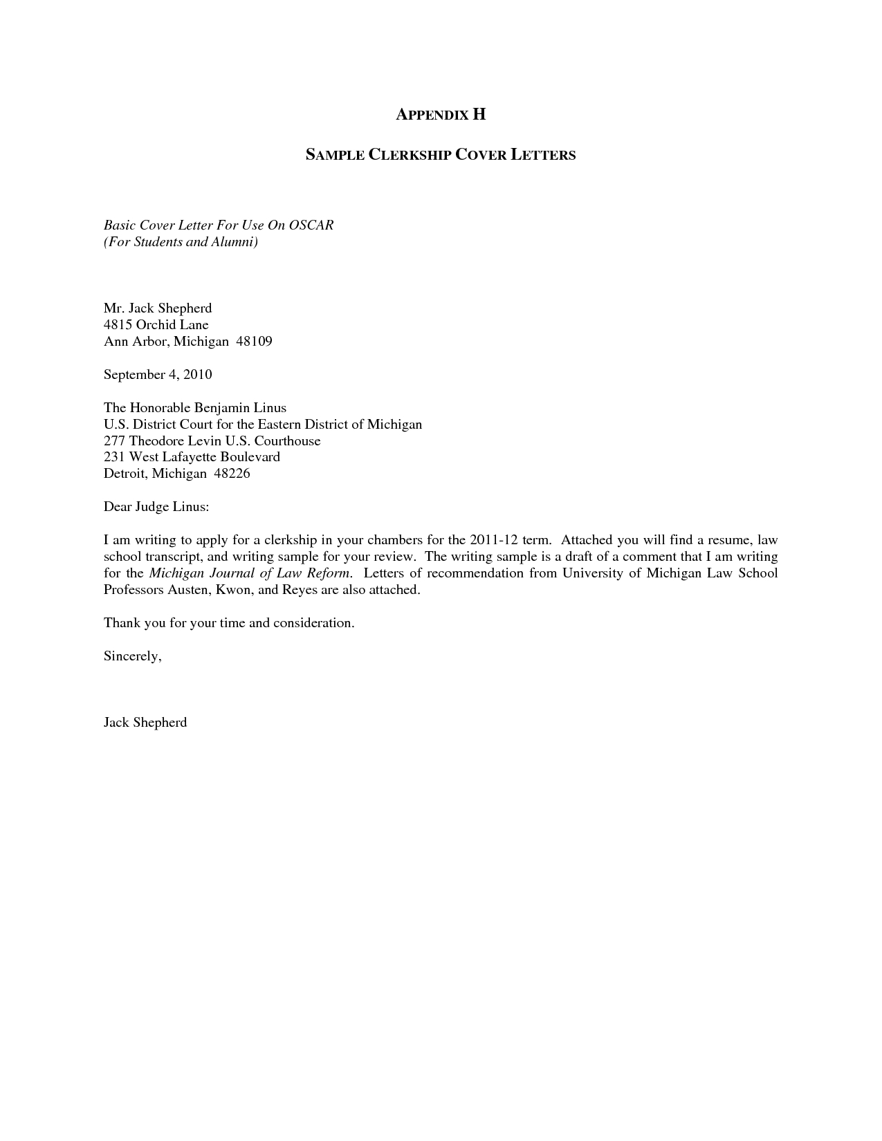For Your Review and Consideration - Application Letter Email Example Azwg
