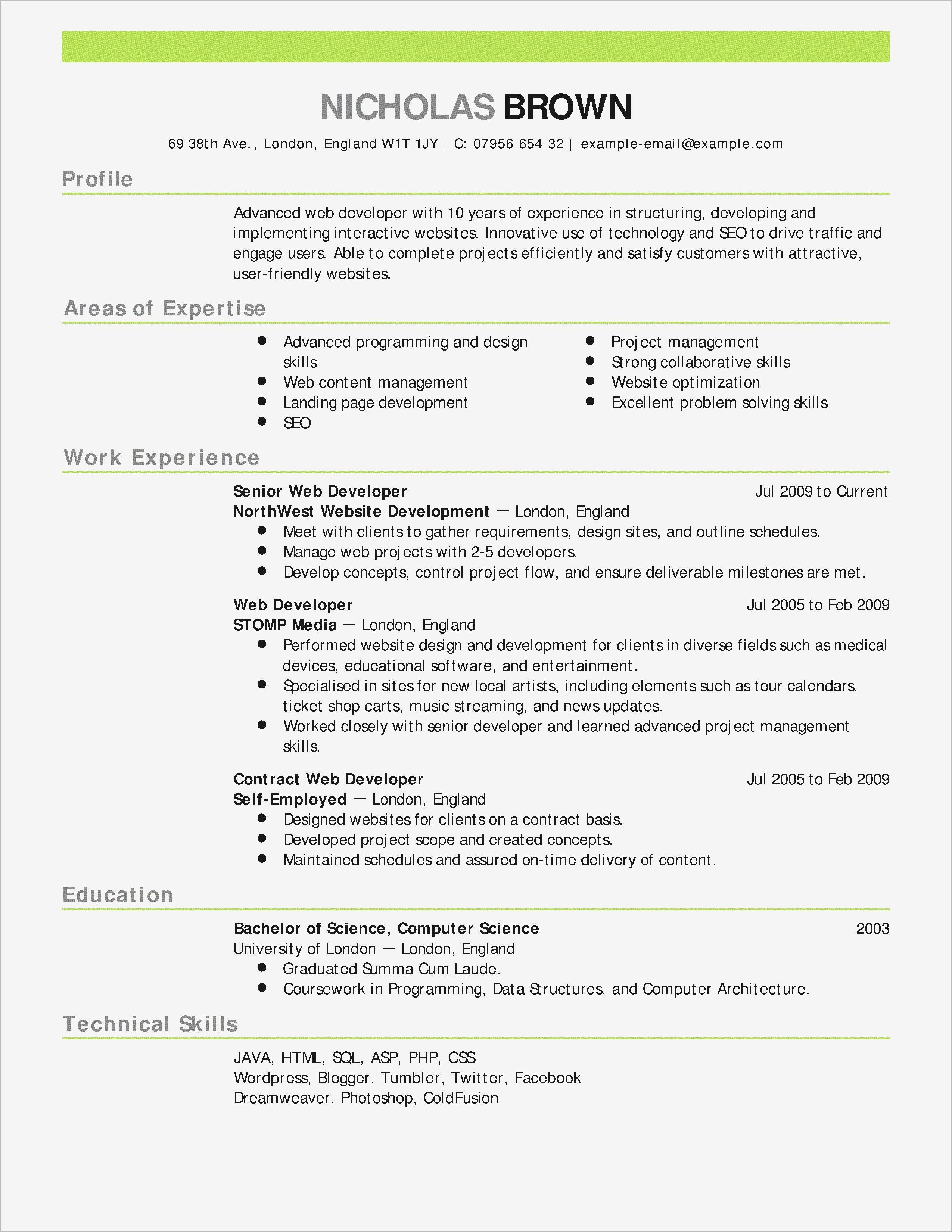 Free Resume Builder Template - 18 Beautiful Resume Builder Land Of Template