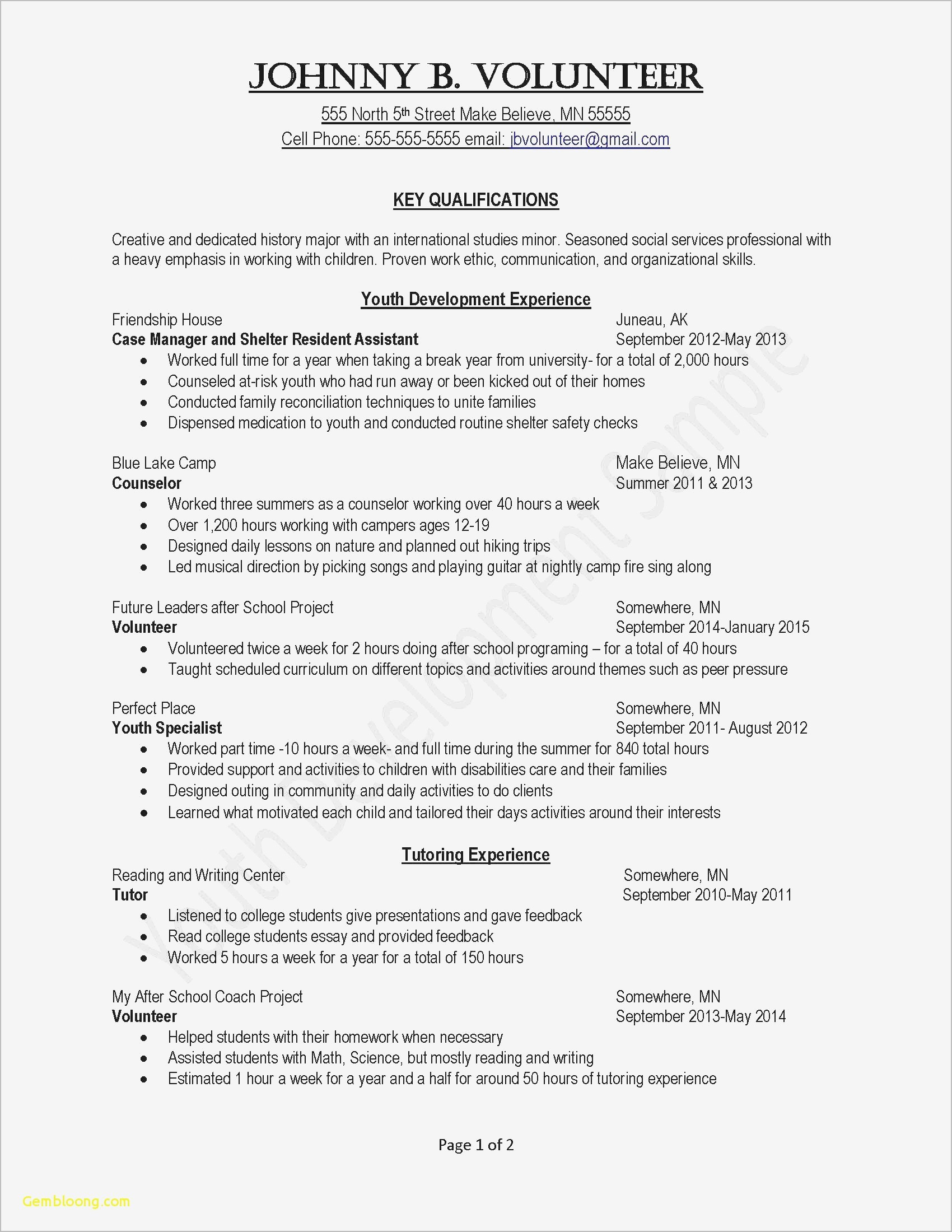 Free Resume Service - New format for Resume Fresh Word format Resume Free Blank Resume