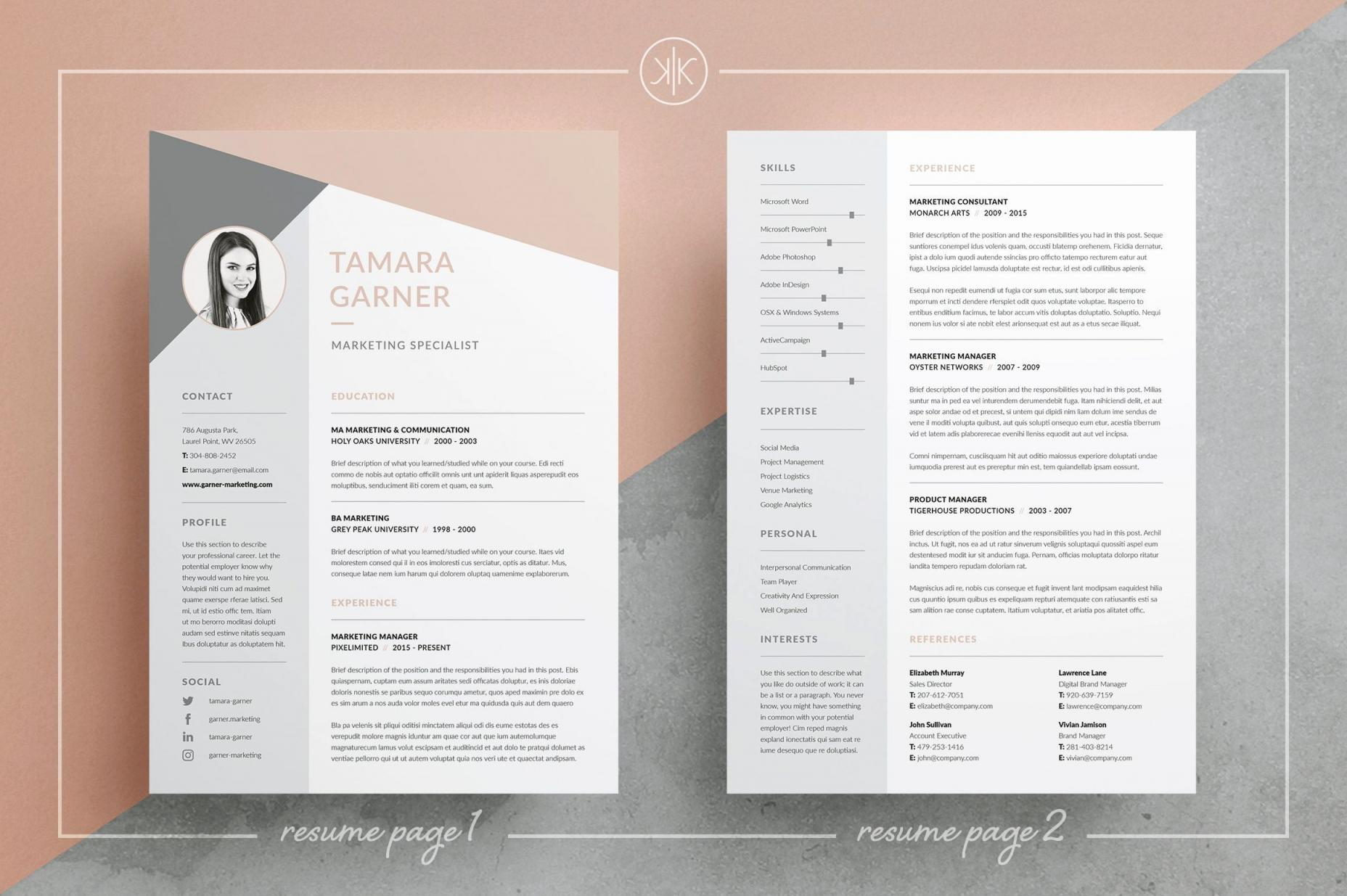 Free Resume Word Templates - Lebenslauf Download Word Genial 22 Lovely Free Resume Template