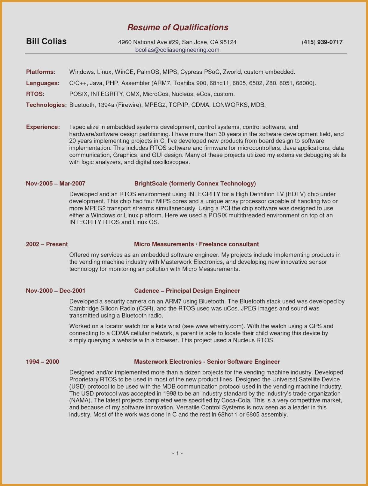 Free Sample Resume Templates - Sample Resume Templates Beautiful Resume 52 New Cv Templates Full Hd