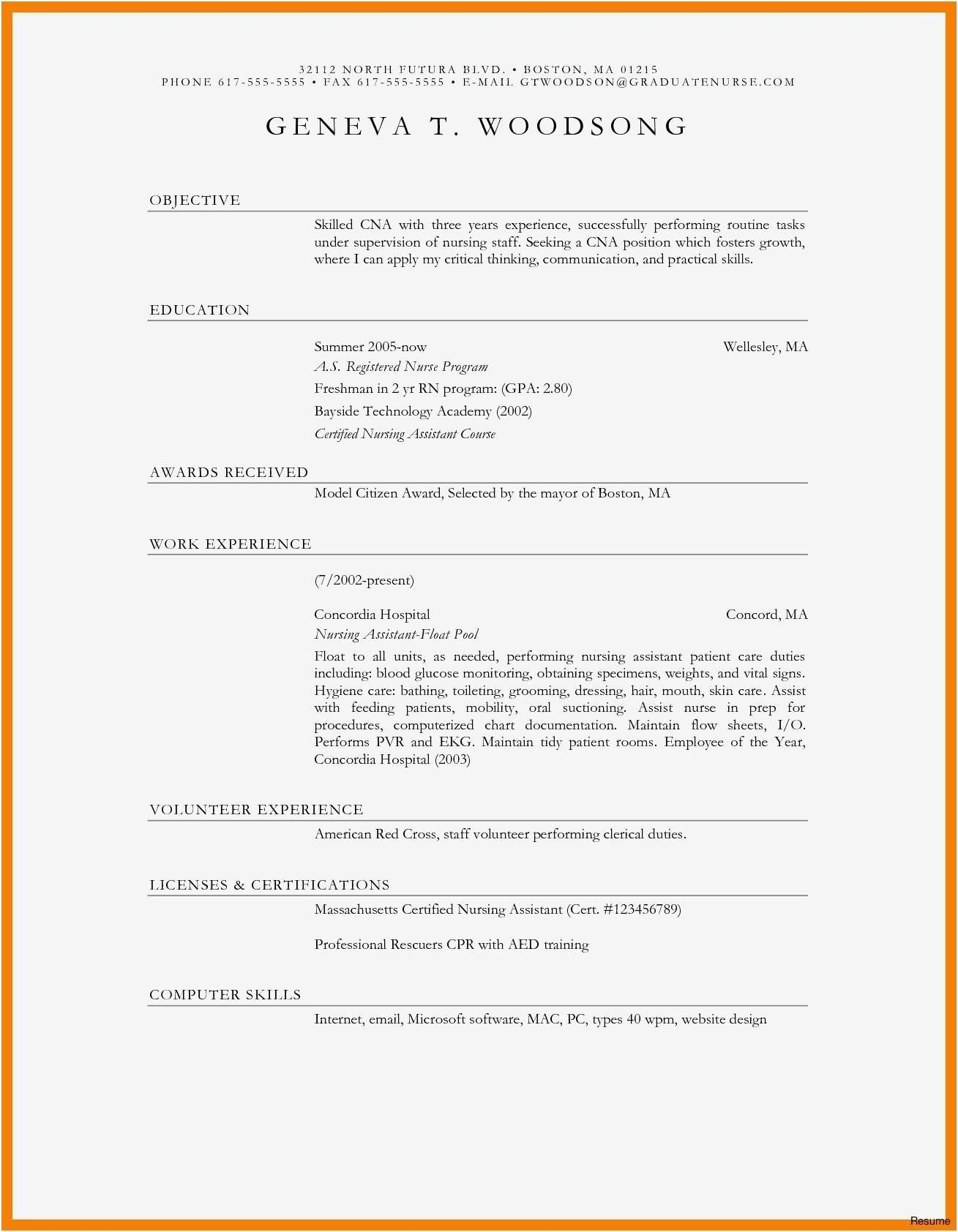 Free Template Resume Download - 27 Go form Model