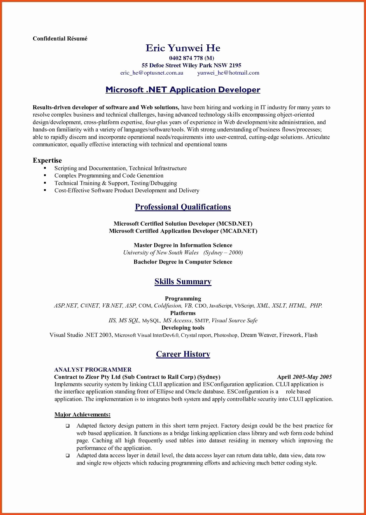 Freelance software Developer Resume - Freelance software Development Contract Template New 11 Flawless