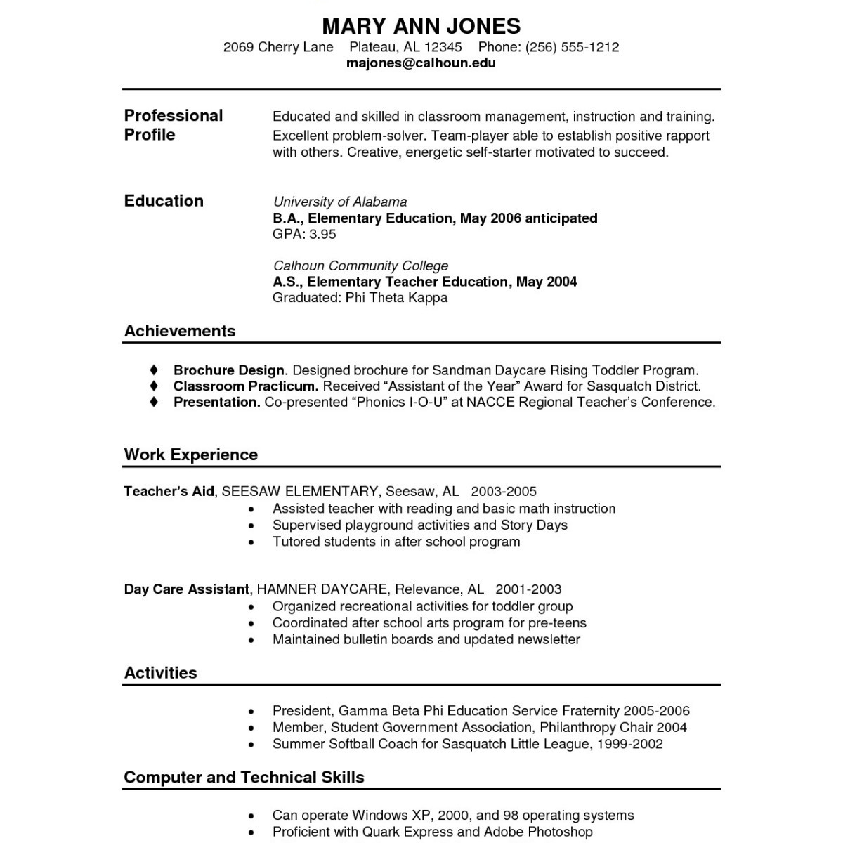 Functional Resume Template Pdf - Functional Resume Sample Pdf Inspirational Fresh Resume Examples Pdf