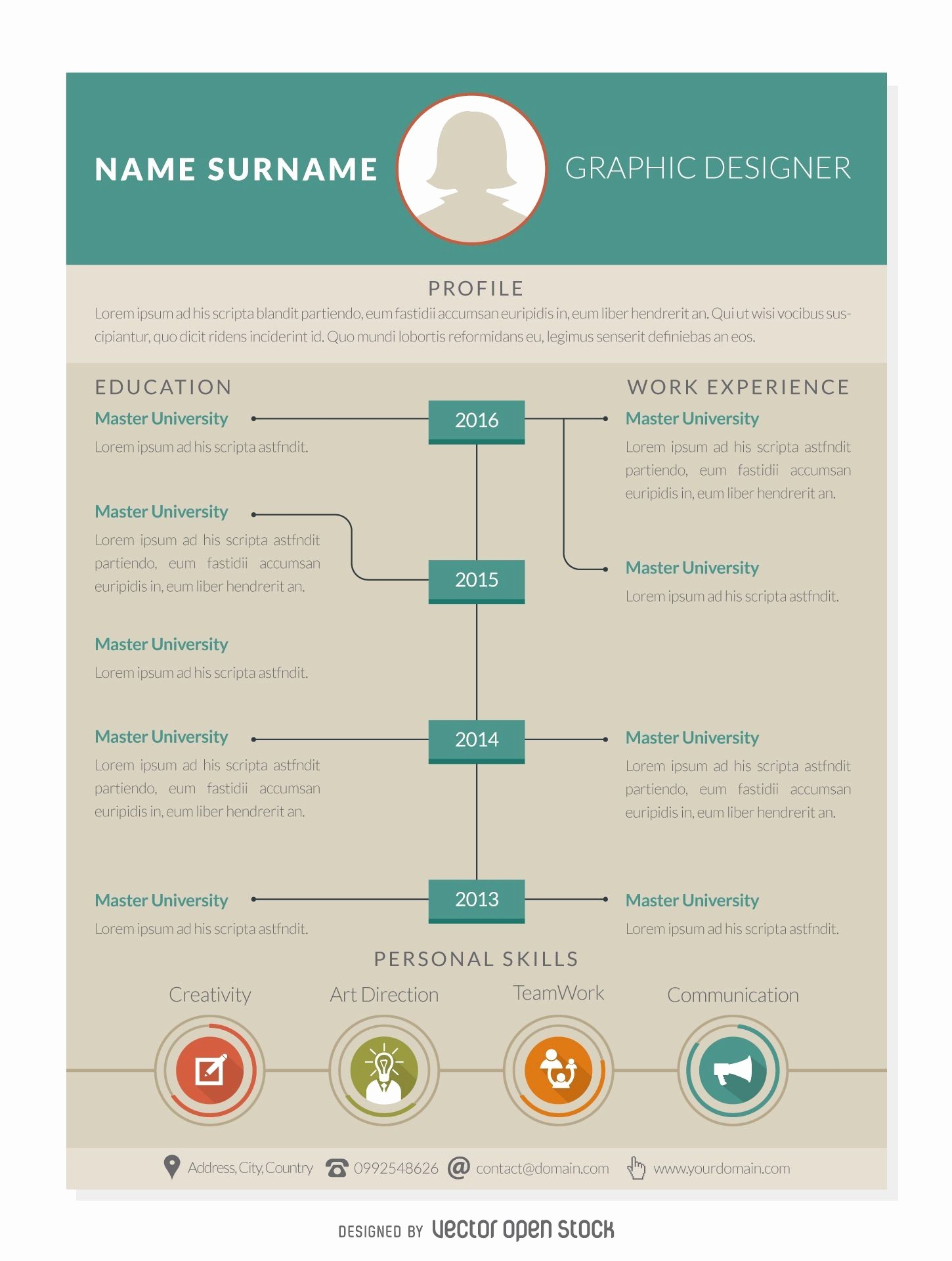 Good Resume Layout - 18 Beautiful Best Resume Layout