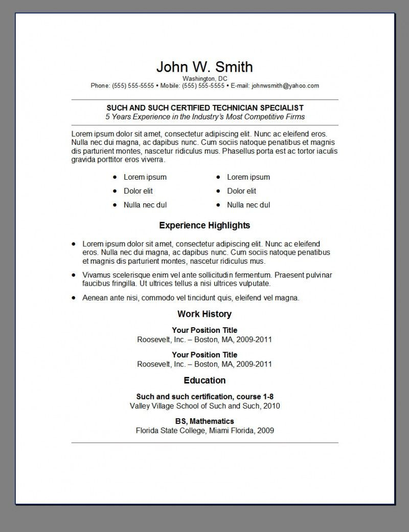 Google Docs Resume Template Reddit - Best Resume Templates Reddit Resume Pinterest
