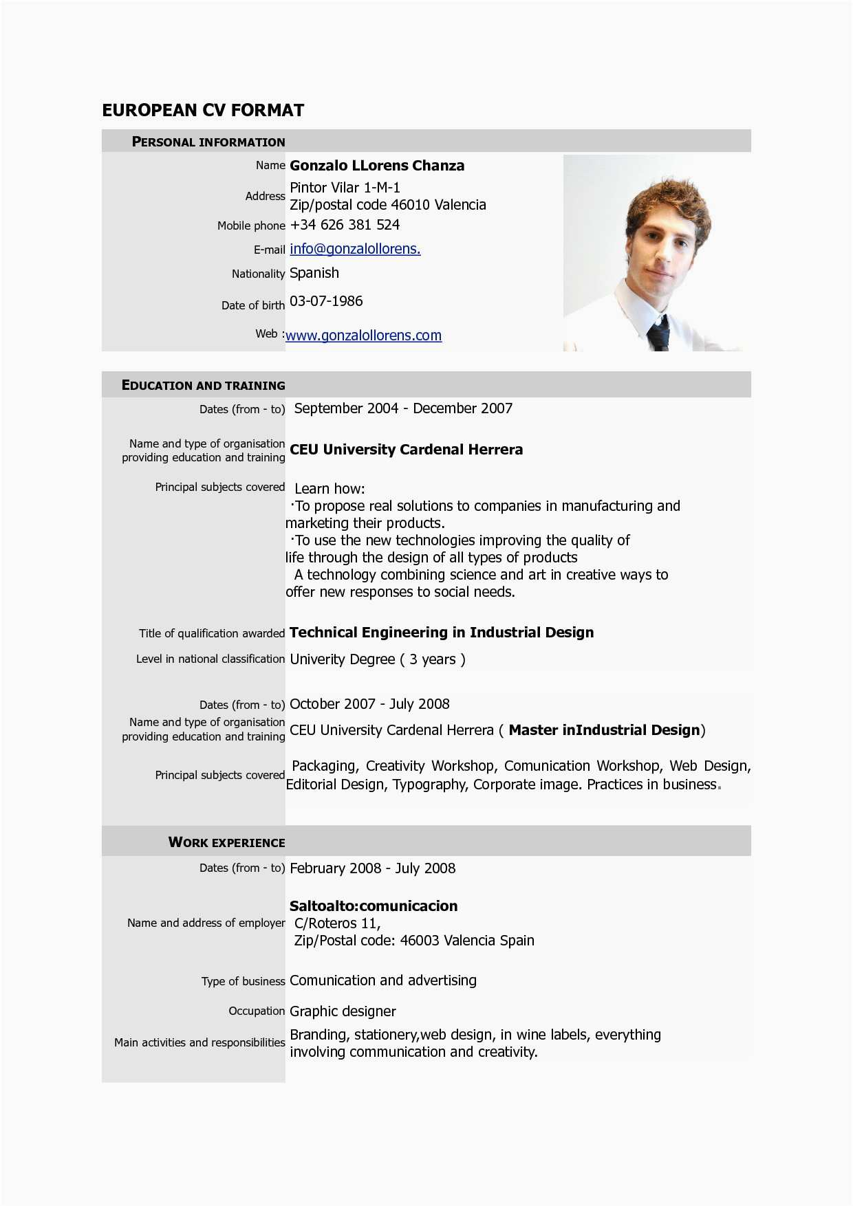 Graphic Resume Templates - 23 Free Resume Template Creative Simple