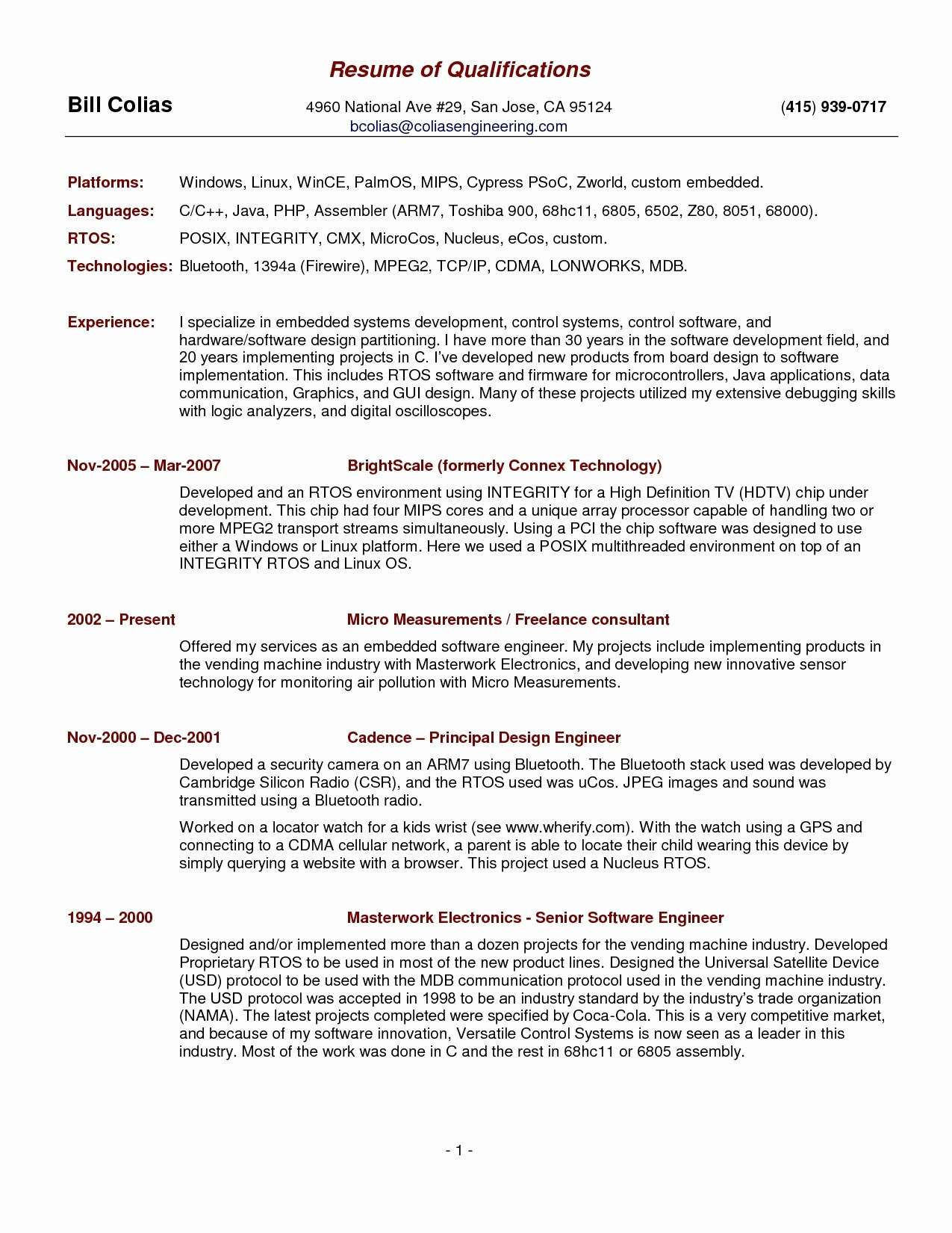 Great Looking Resumes - the 28 Luxury Pics What Does A Good Resume Look Like