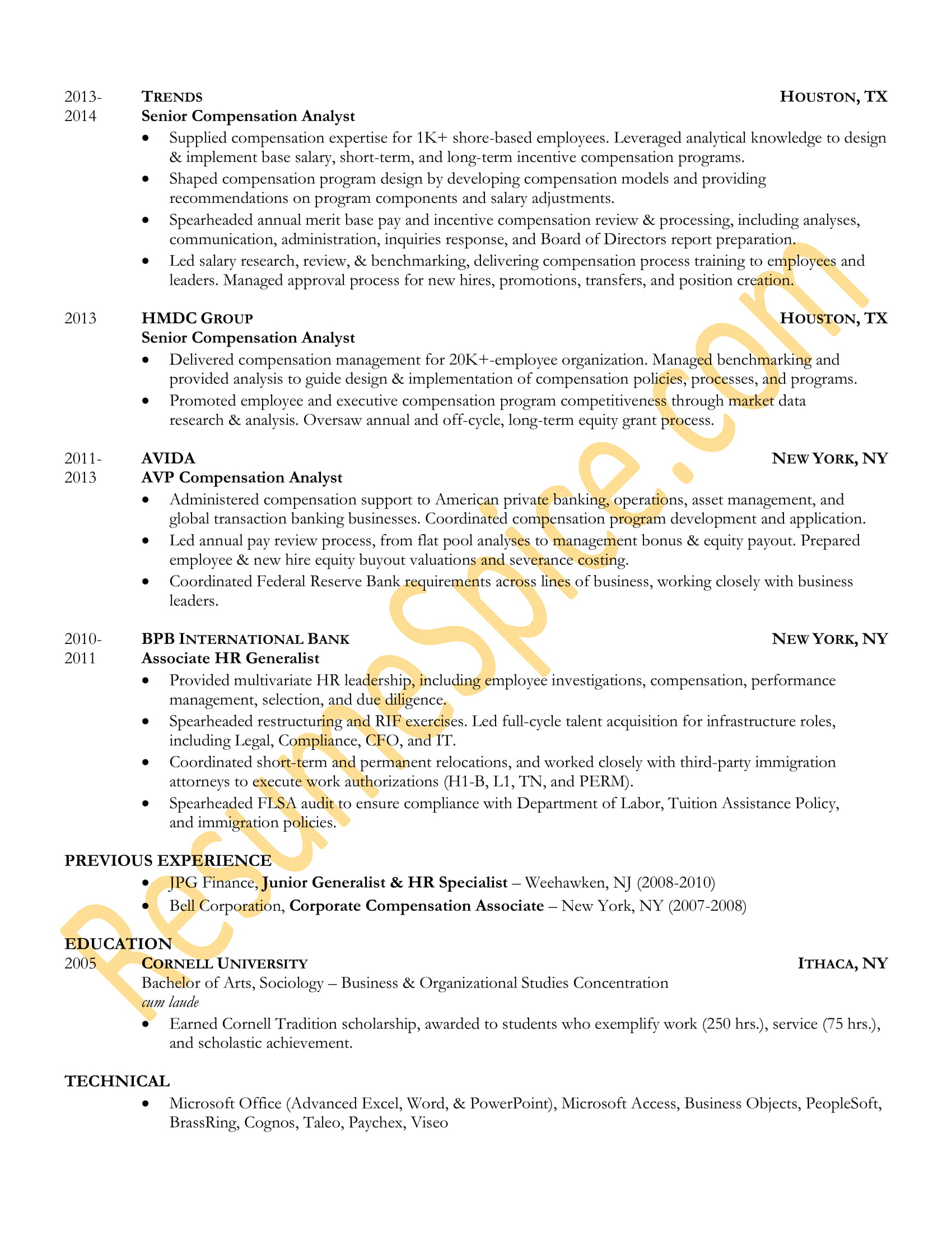 Guaranteed Resume Writing Services - Best Resume Samples for Executives and Professionals