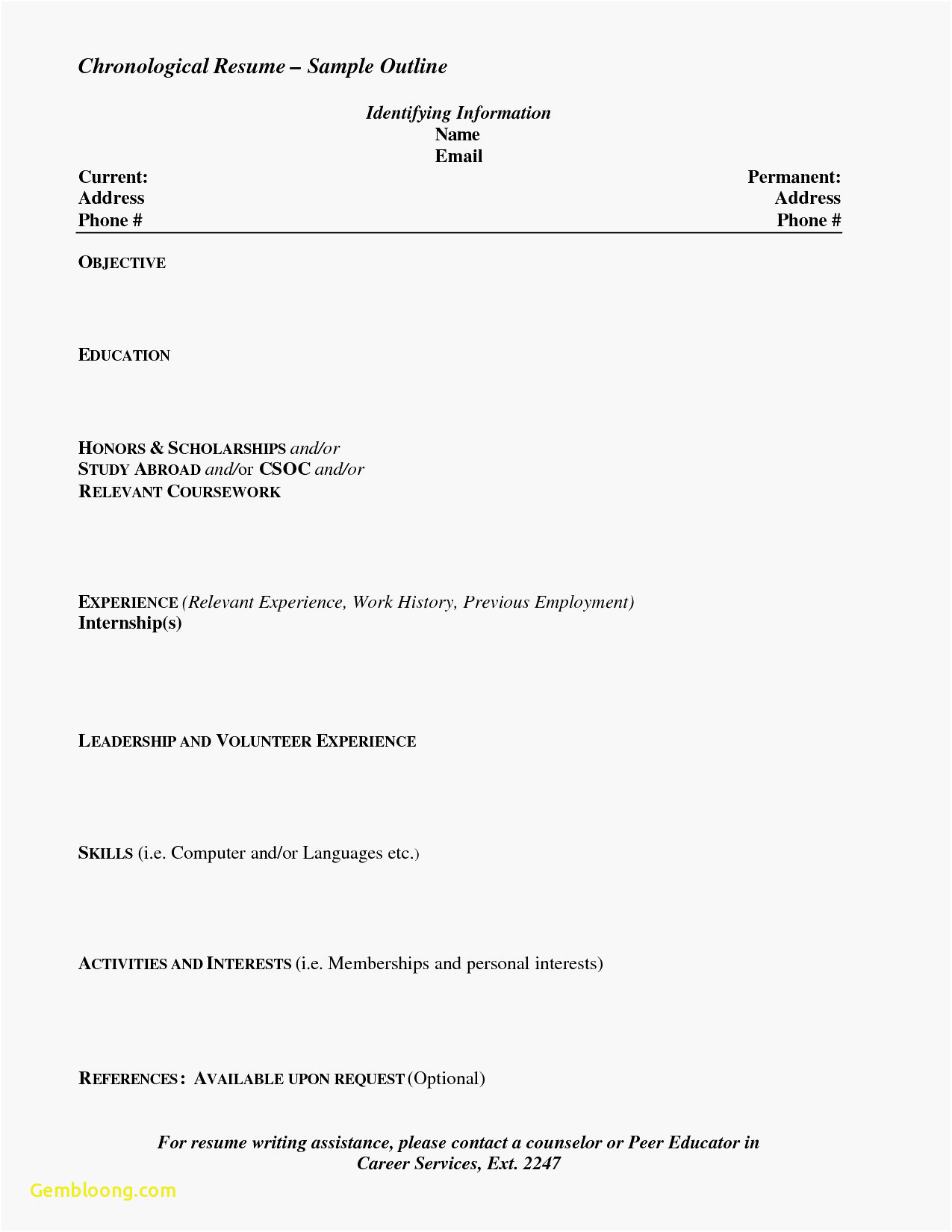Hairdresser Resume Template - Download Awesome Resume formatter