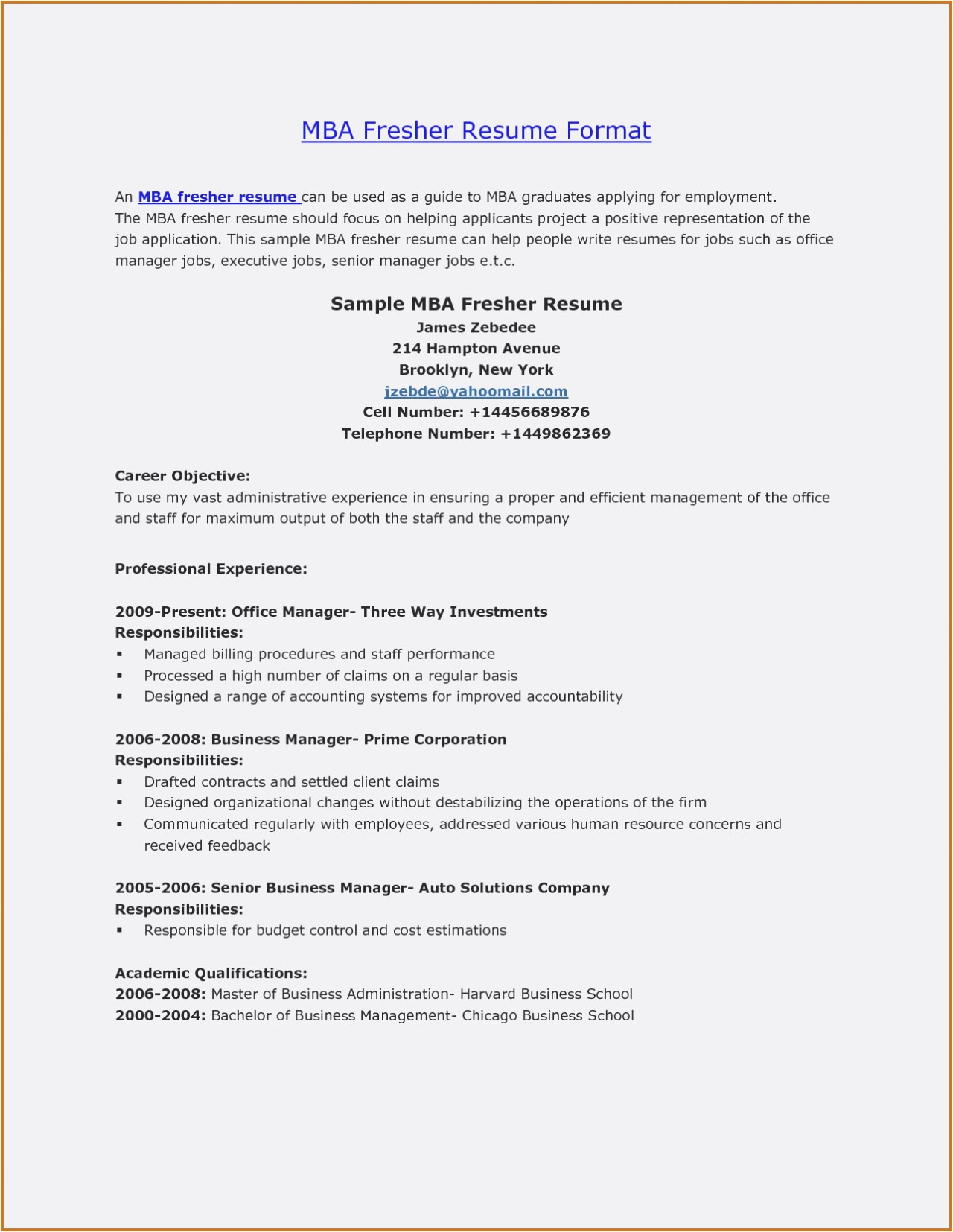 Hbs Resume Template - Mba Application Resume Template Inspirational Inspirierende 33