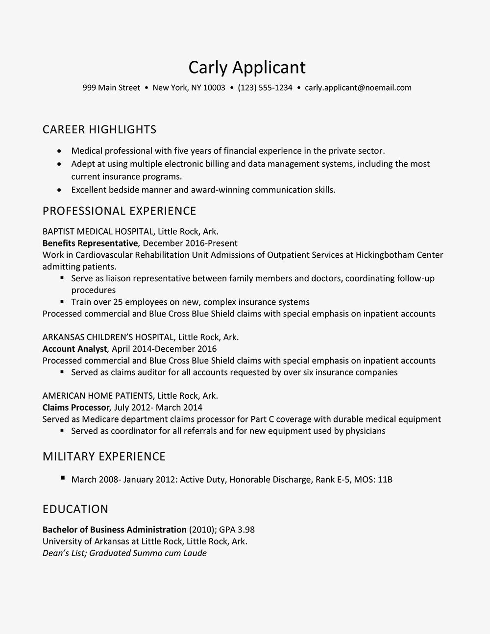 Health Insurance Agent Resume - Health Insurance Industry Resume Example