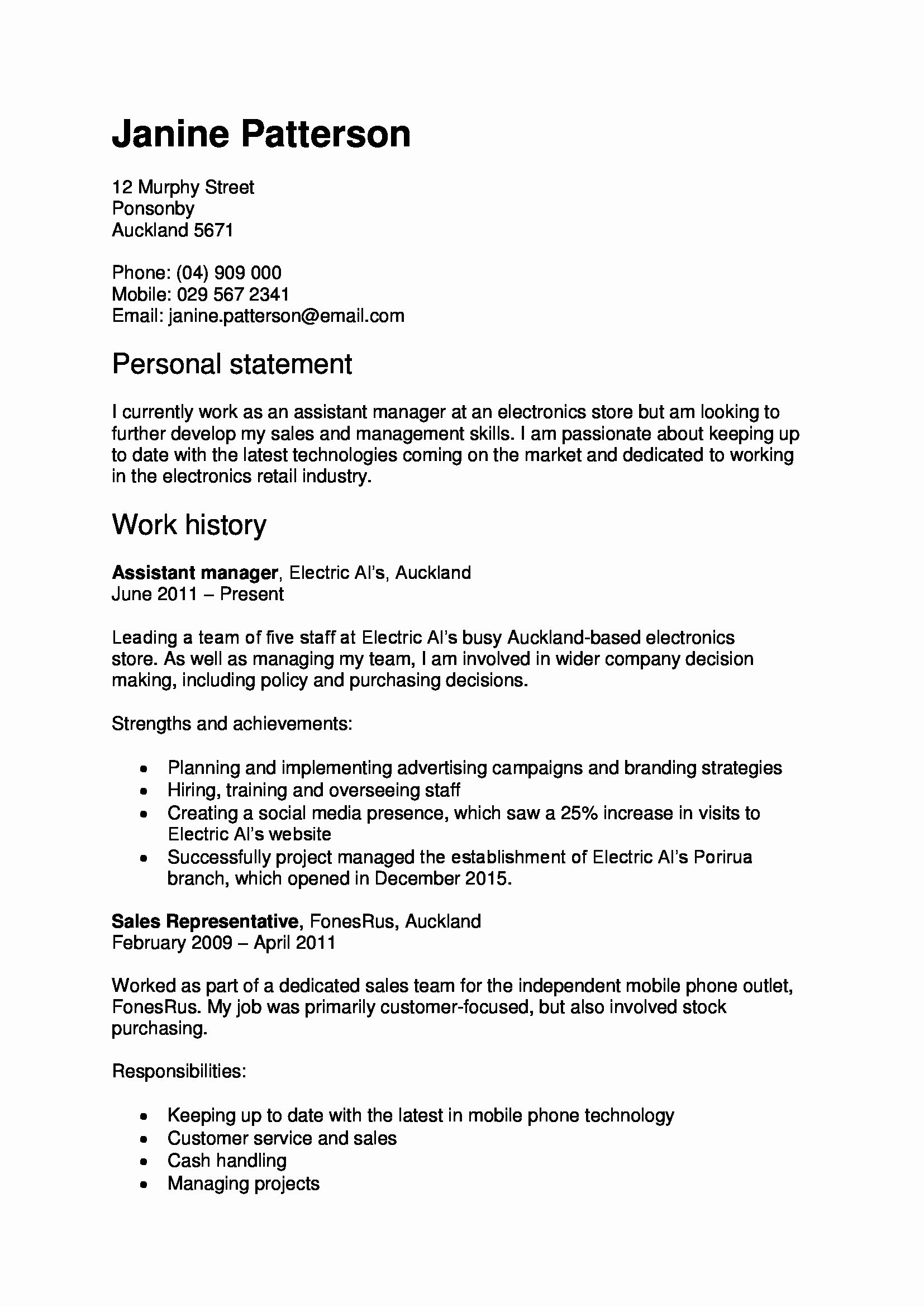 Healthcare Management Resume - Healthcare Project Test Cases