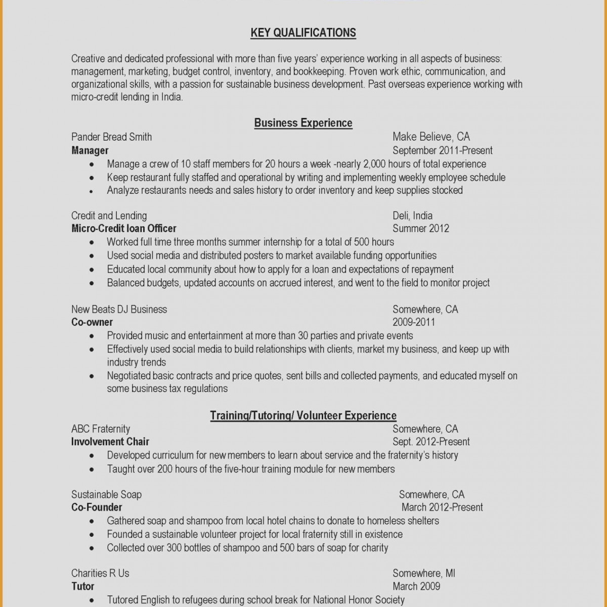 Help Writing Professional Resume - Different Types Resumes Charming Type A Resume New Help Write A