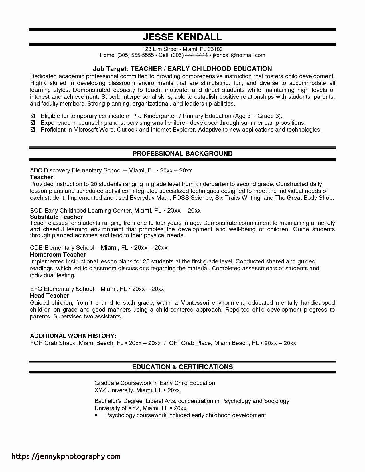 High School Student athlete Resume - 32 Unique Teacher Notes to Students