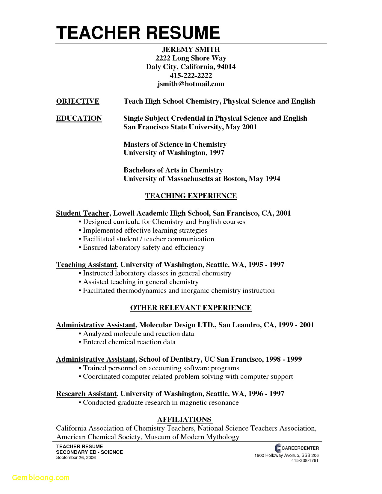High School Student Resume Template Google Docs - 43 New Resume Template for Google Docs
