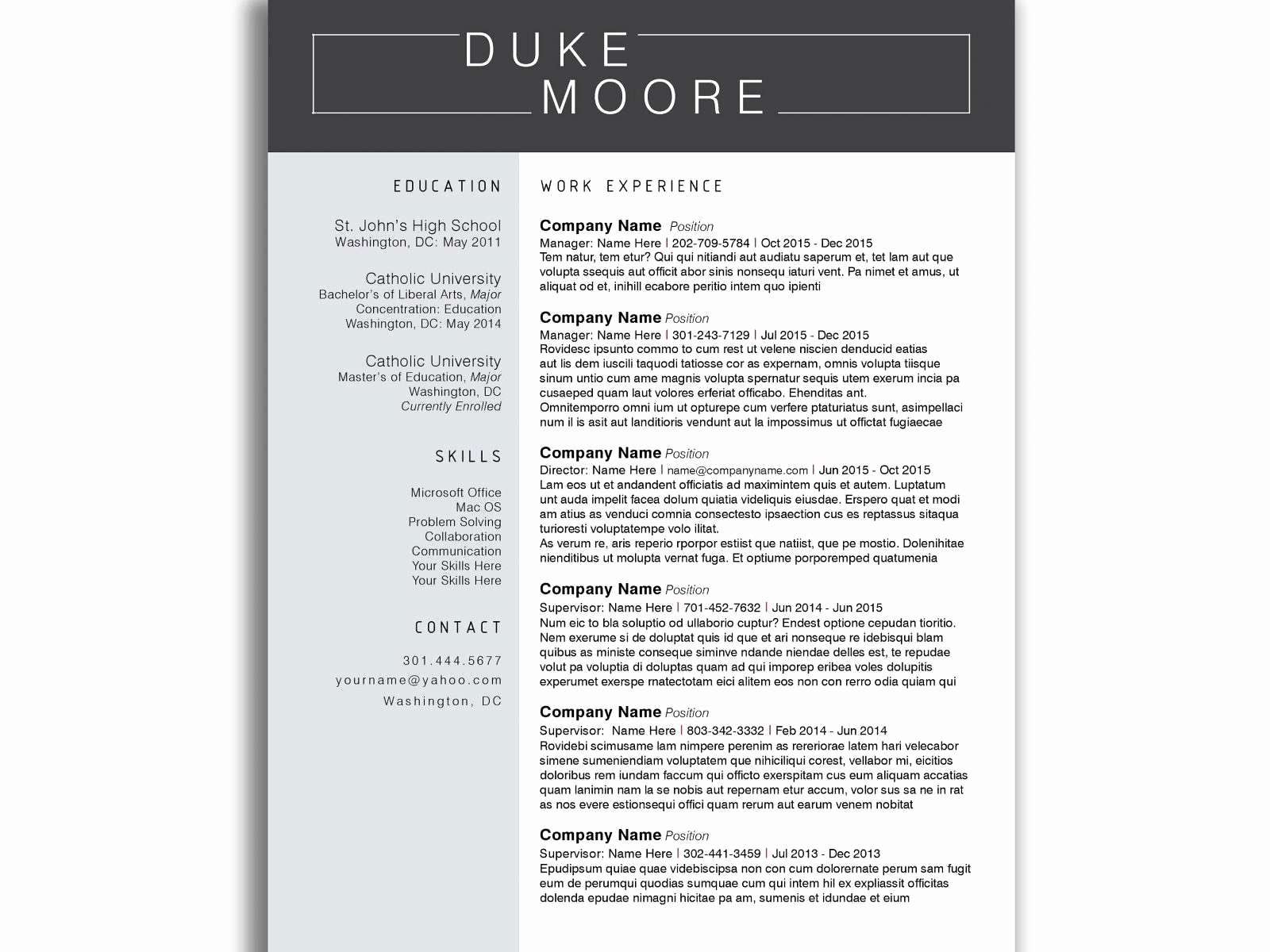 High School Student Resume Template Google Docs - Student Resume Template Google Docs Fresh College Student Resume