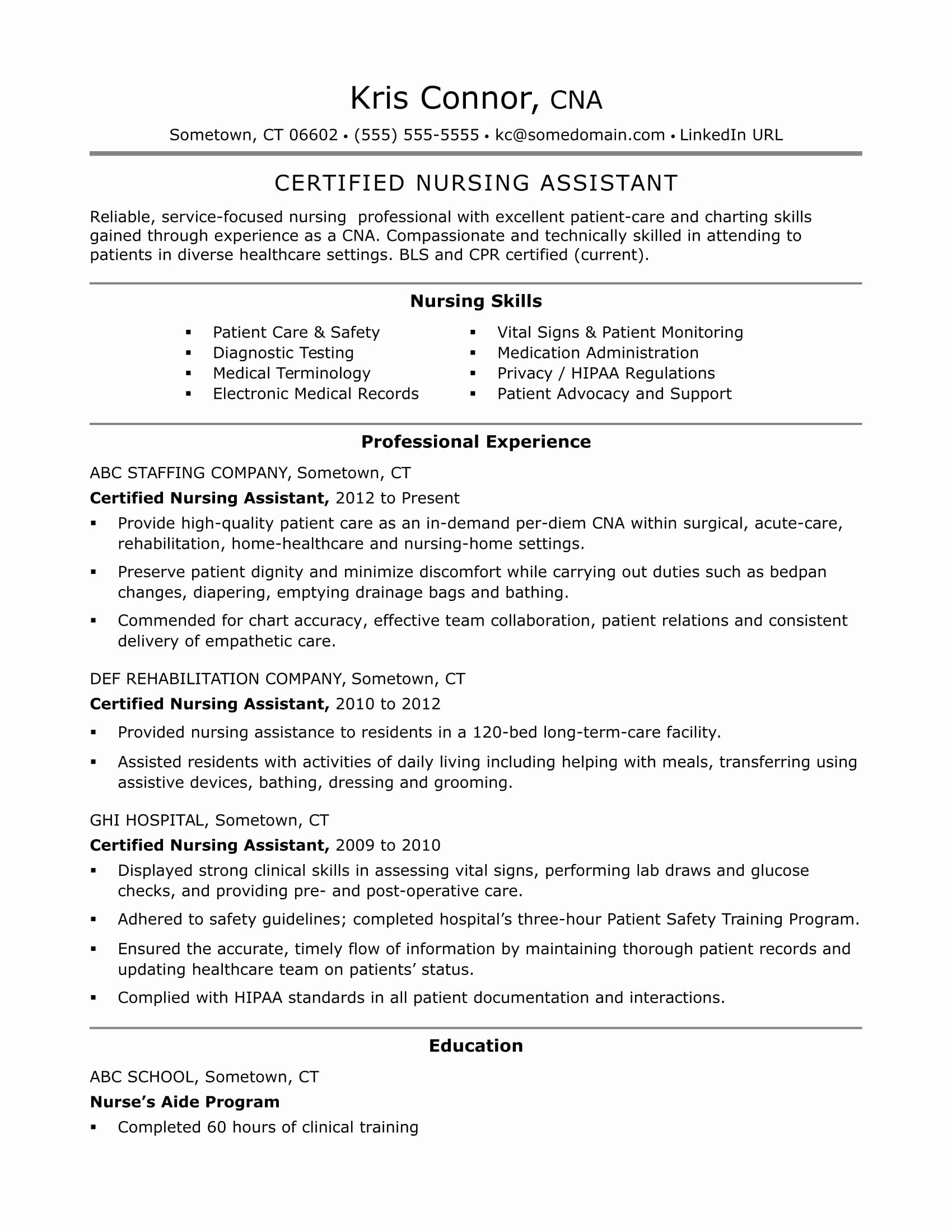 Home Care Nursing Resume - Resume for Nursing Best Best New Nurse Resume Awesome Nurse