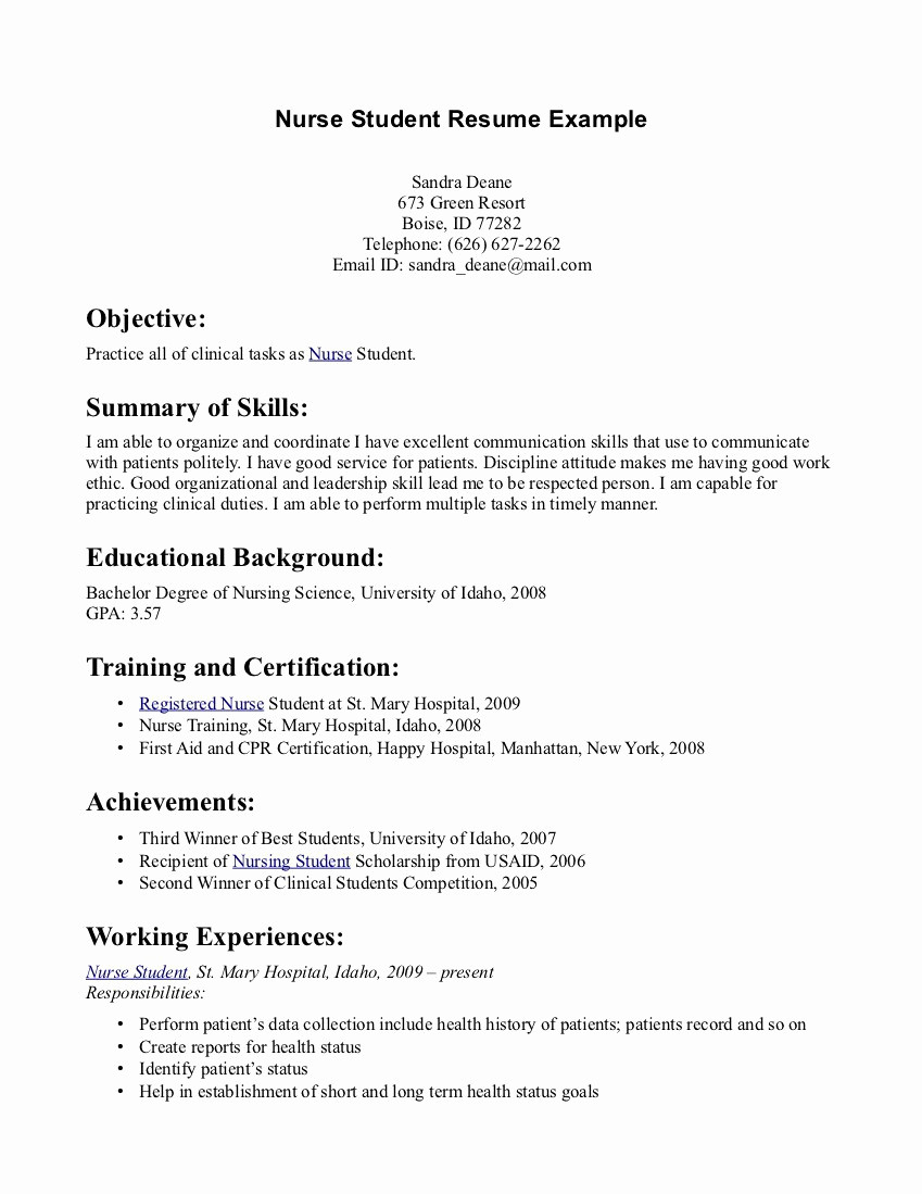 Home Health Nurse Resume - Home Health Nurse Duties – Home Health Nurse Resume New Resume