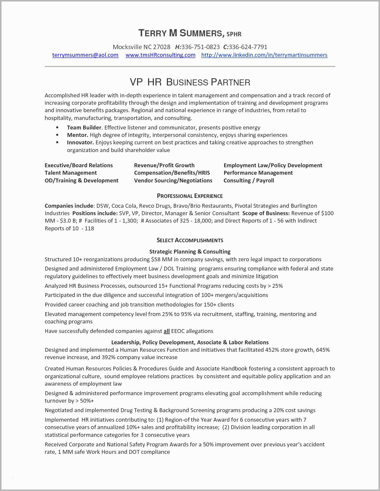 Hospitality Manager Resume - Hotel General Manager Resume Samples – Hotel Management Resume